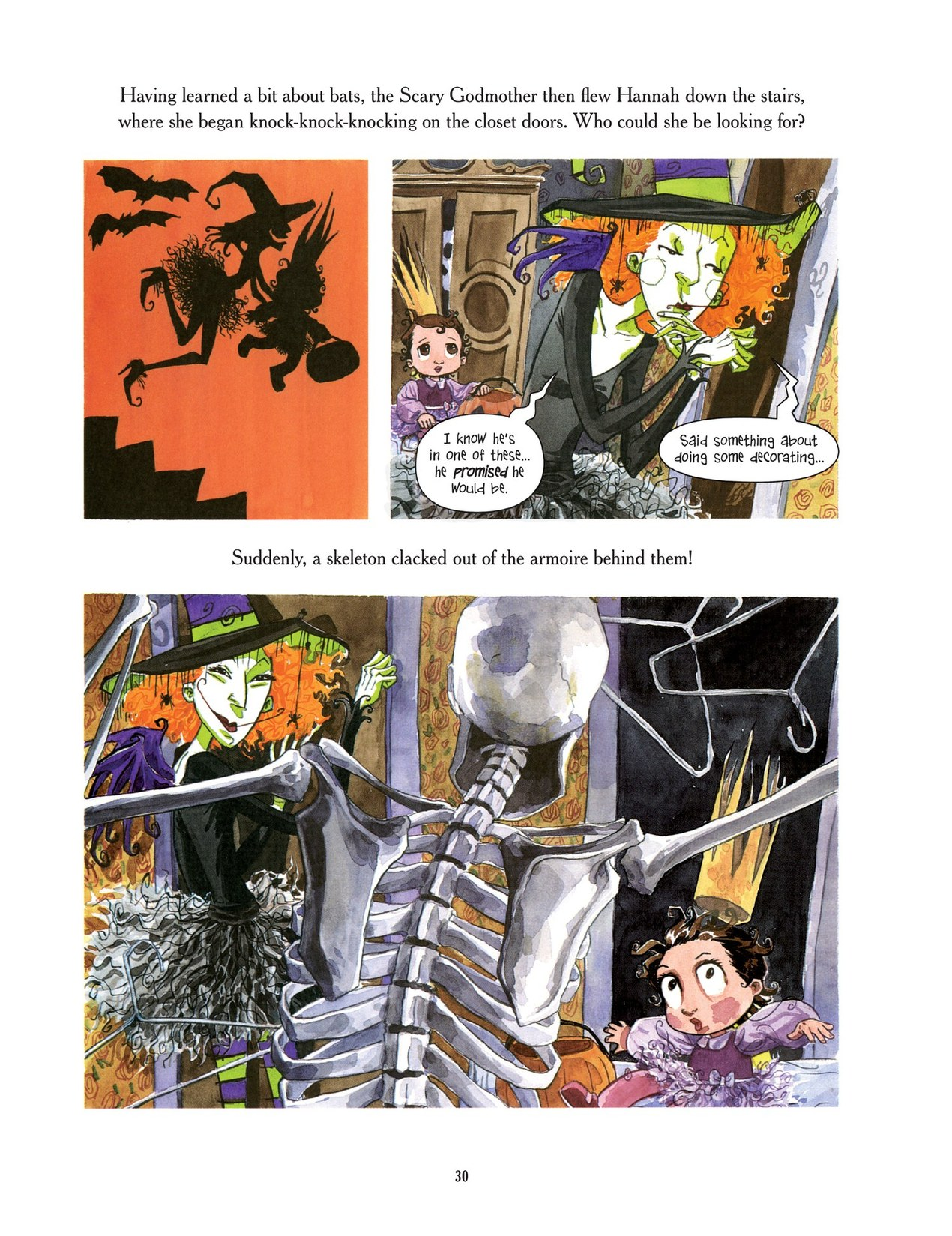 Read online Scary Godmother comic -  Issue # TPB - 30