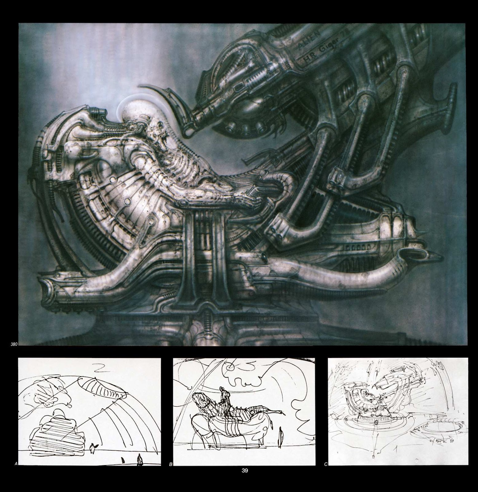 Read online Giger's Alien comic -  Issue # TPB - 41