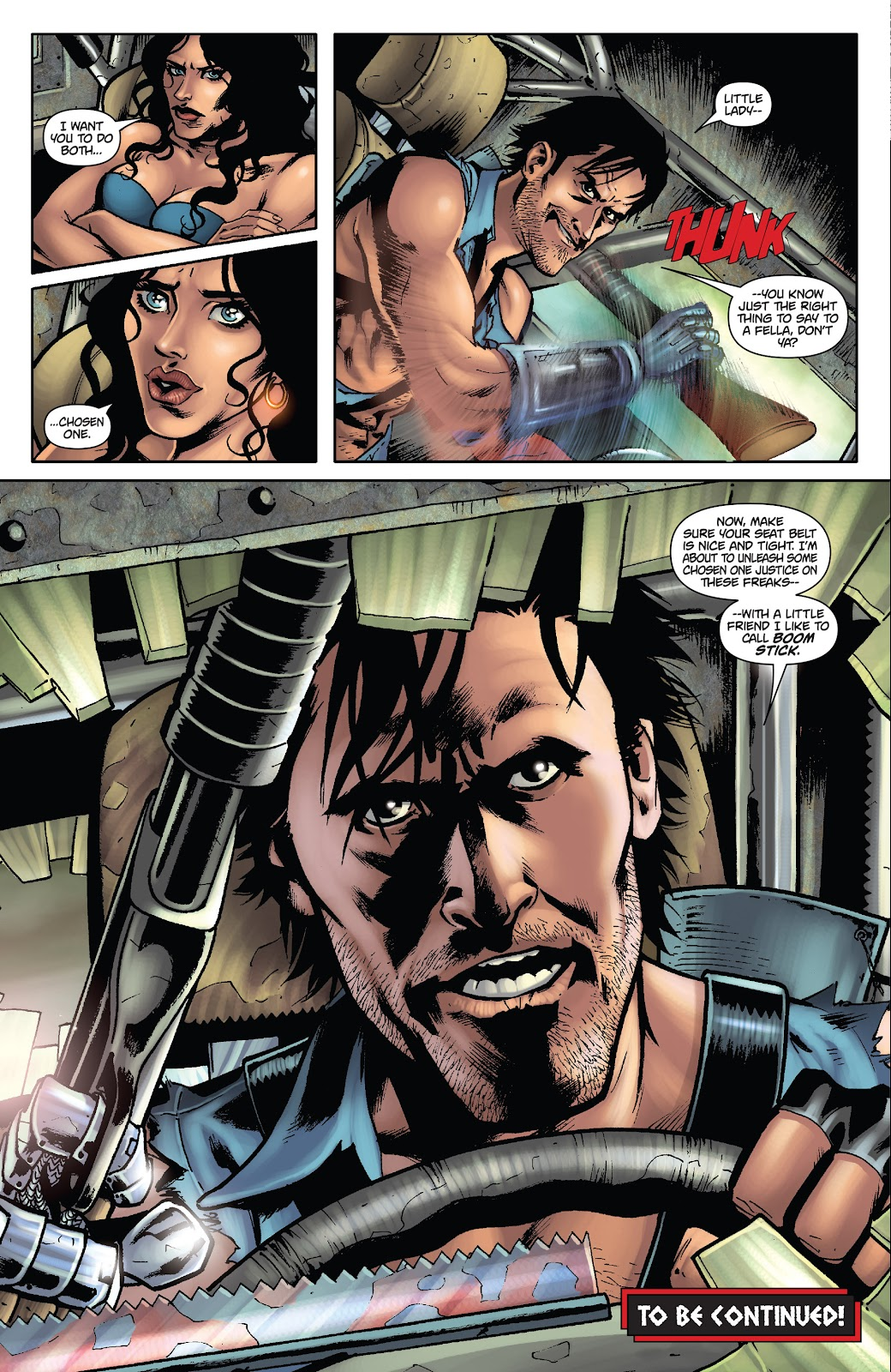 Army of Darkness: The Long Road Home issue TPB - Page 29