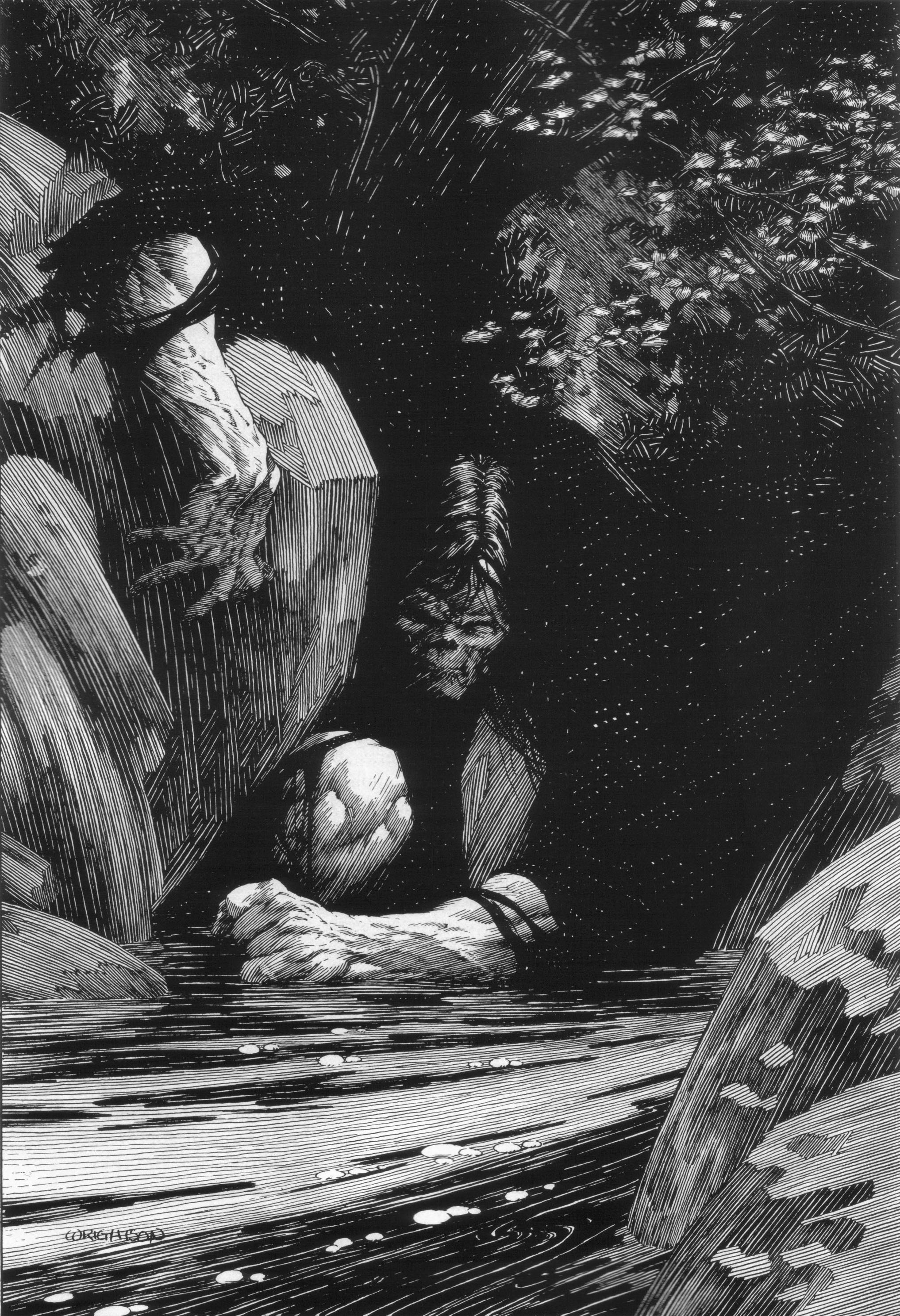 Read online Bernie Wrightson's Frankenstein comic -  Issue # Full - 24