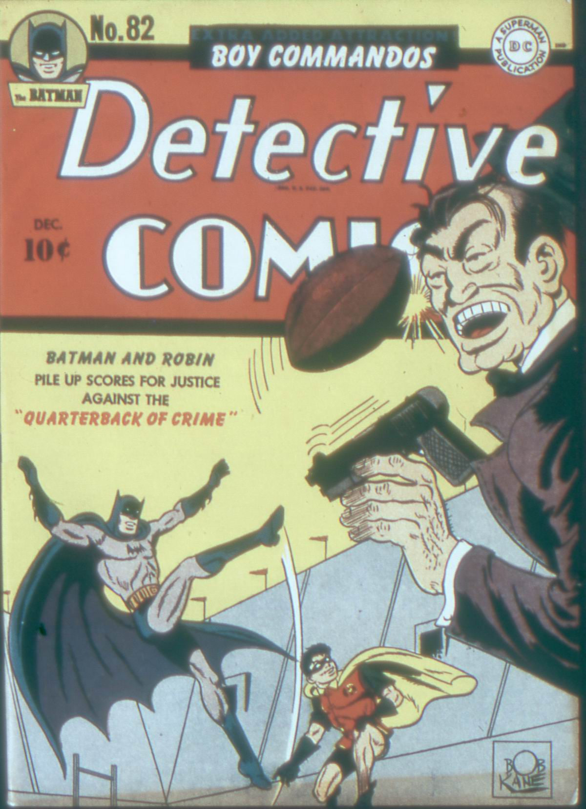 Read online Detective Comics (1937) comic -  Issue #82 - 1