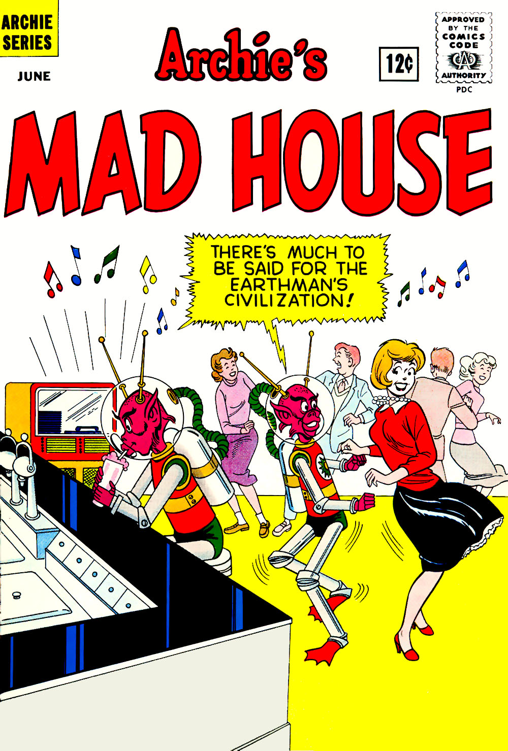 Archie's Madhouse issue 19 - Page 1