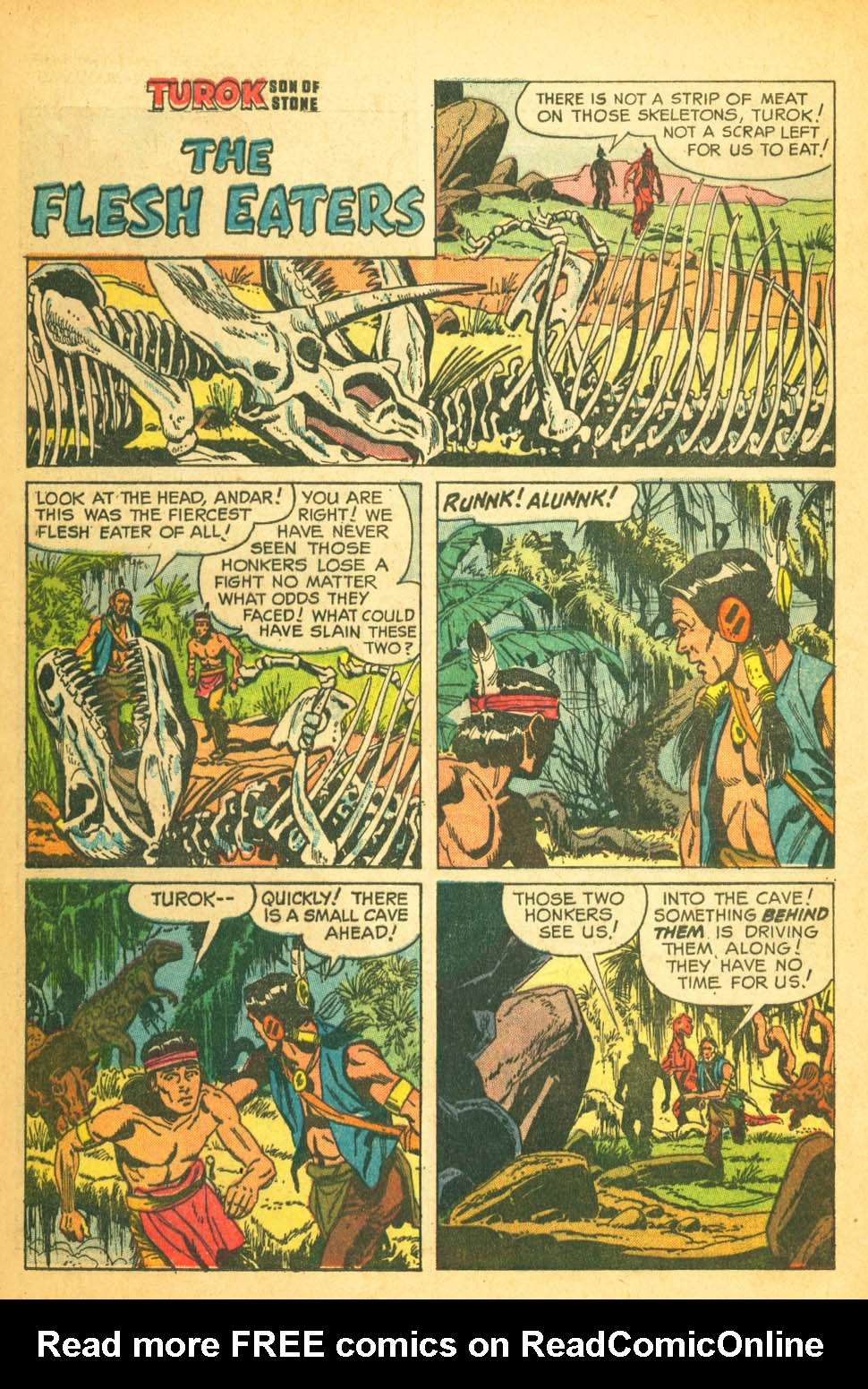 Read online Turok, Son of Stone comic -  Issue #27 - 24