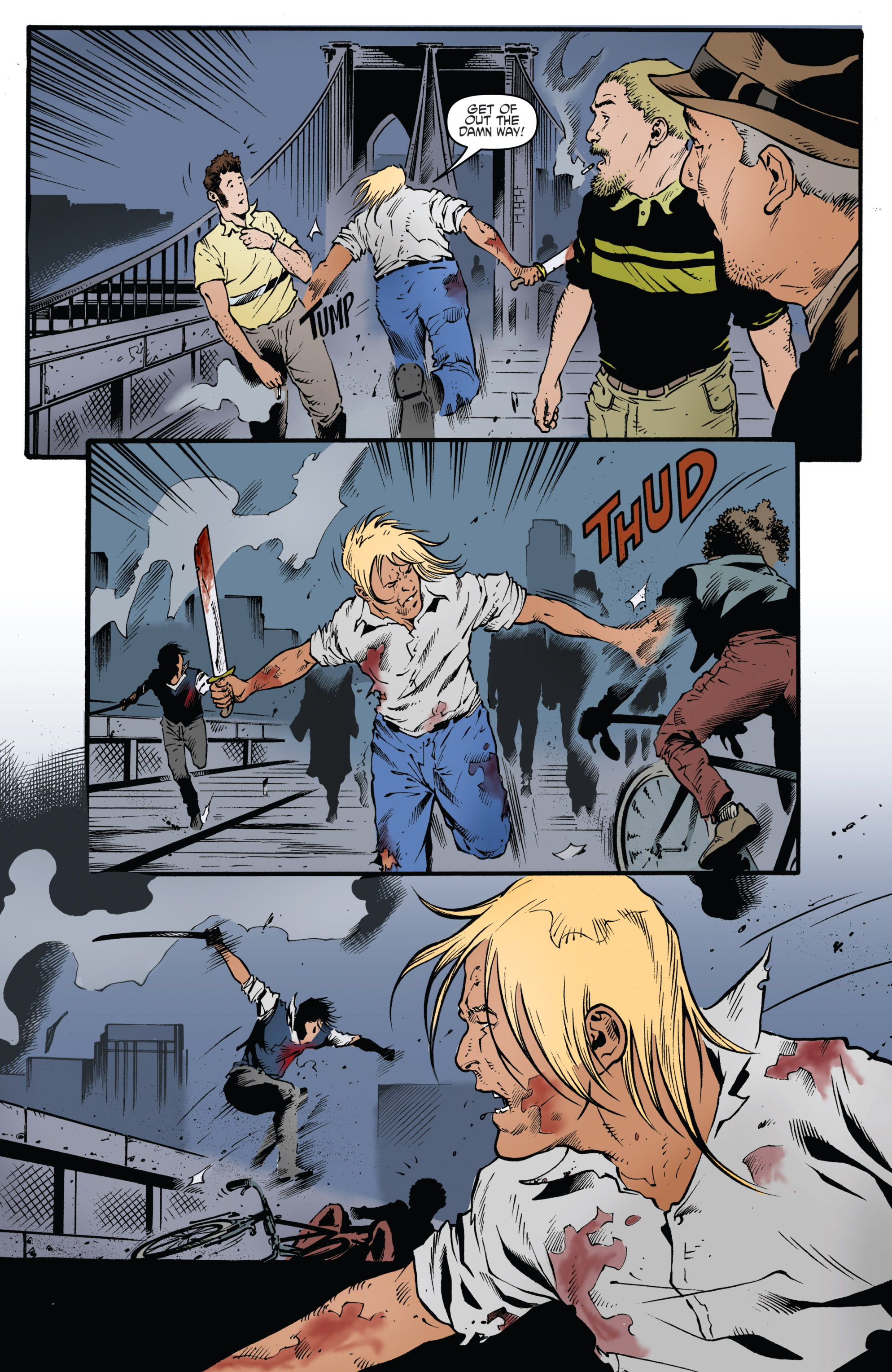 Read online Highlander: The American Dream comic -  Issue #4 - 5