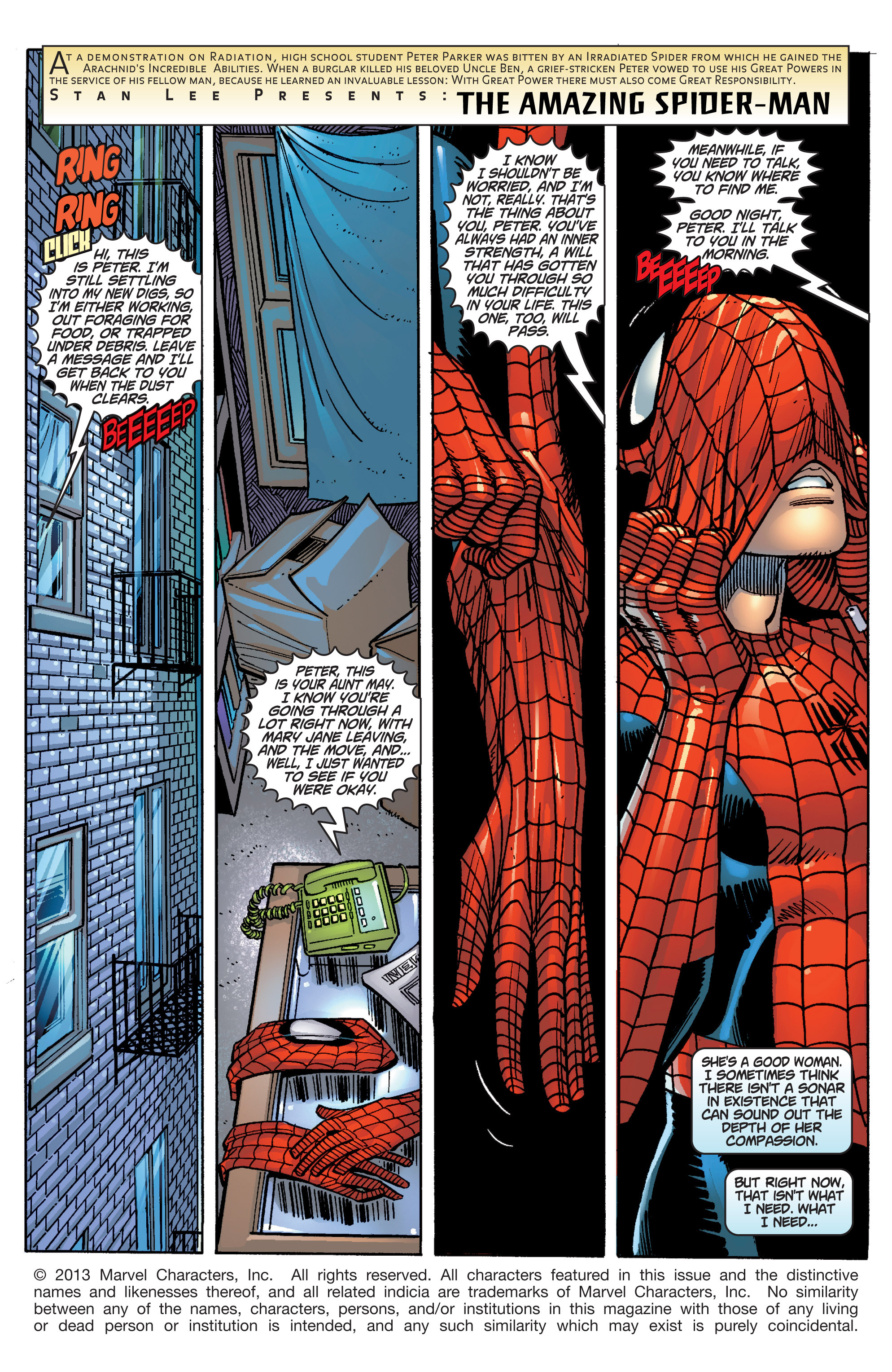 The Amazing Spider-Man (1999) 30 Page 1