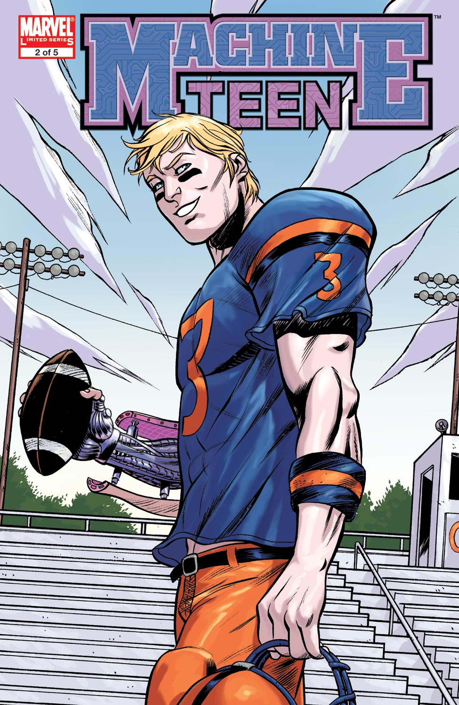 Read online Machine Teen comic -  Issue #2 - 1
