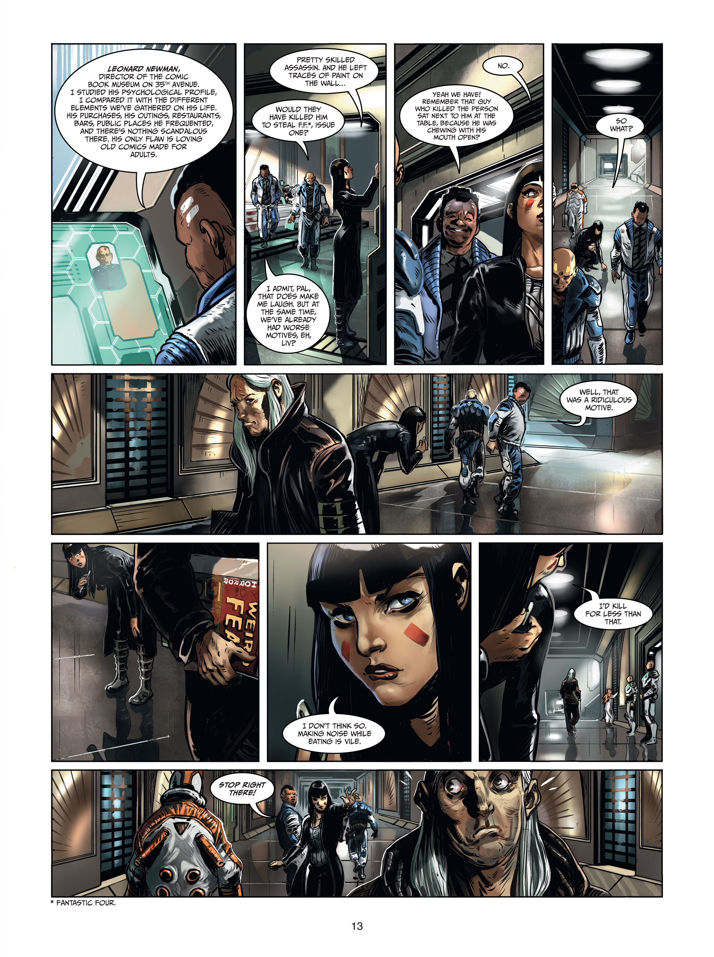 Read online Androïds comic -  Issue #1 - 11
