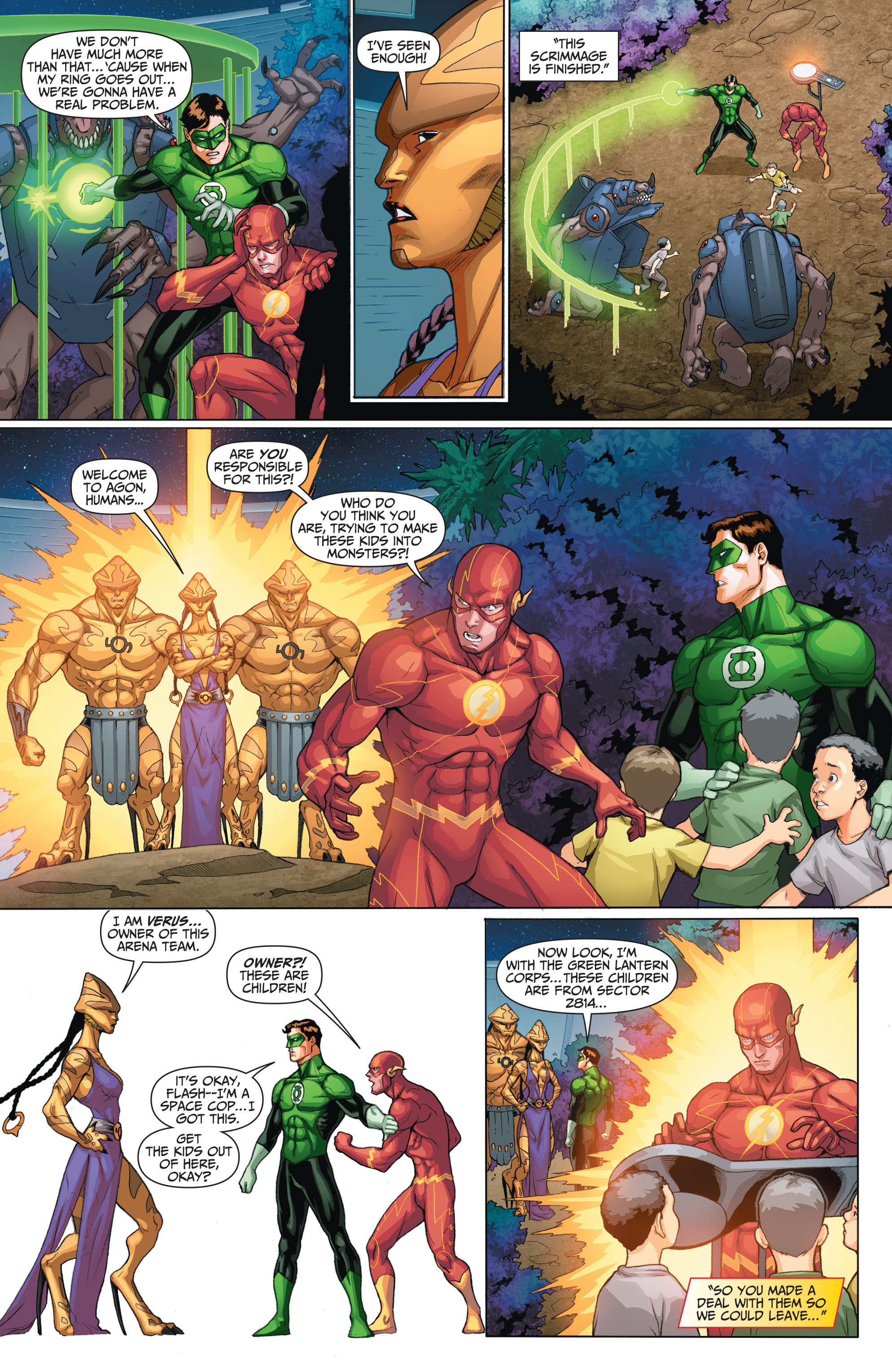 Read online The Flash (2011) comic -  Issue # _TPB 5 - 21