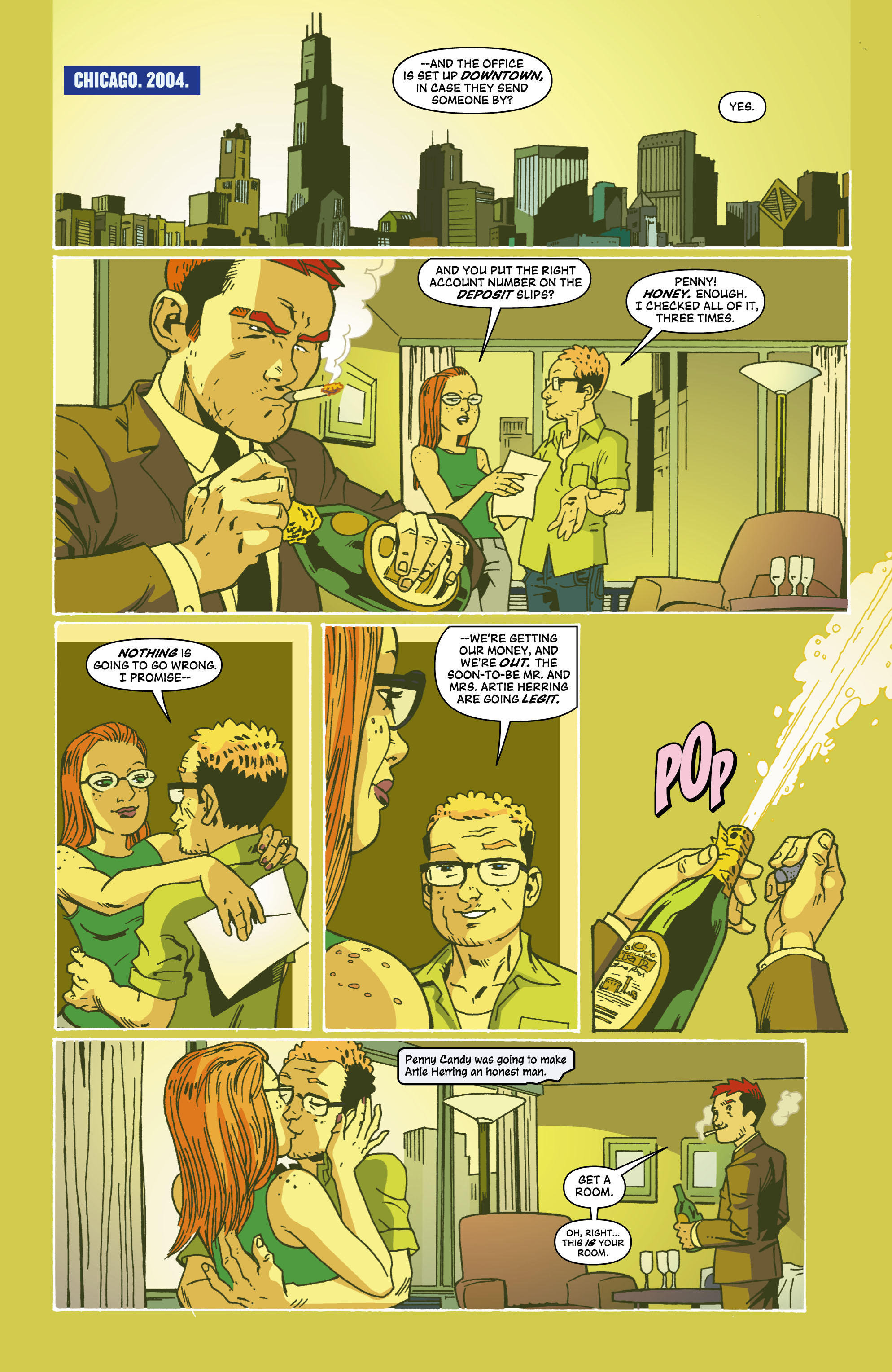 Read online Red Herring comic -  Issue #6 - 10