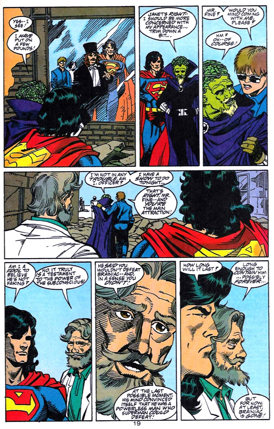 Read online Adventures of Superman (1987) comic -  Issue #519 - 20