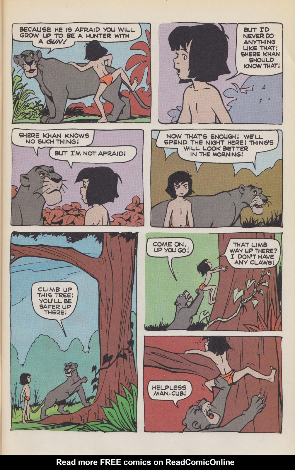 Read online The Jungle Book comic -  Issue # Full - 9