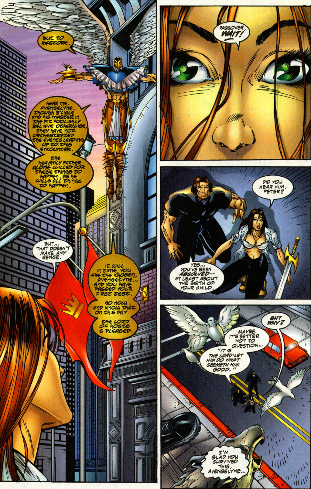 Read online Avengelyne (1996) comic -  Issue #3 - 25