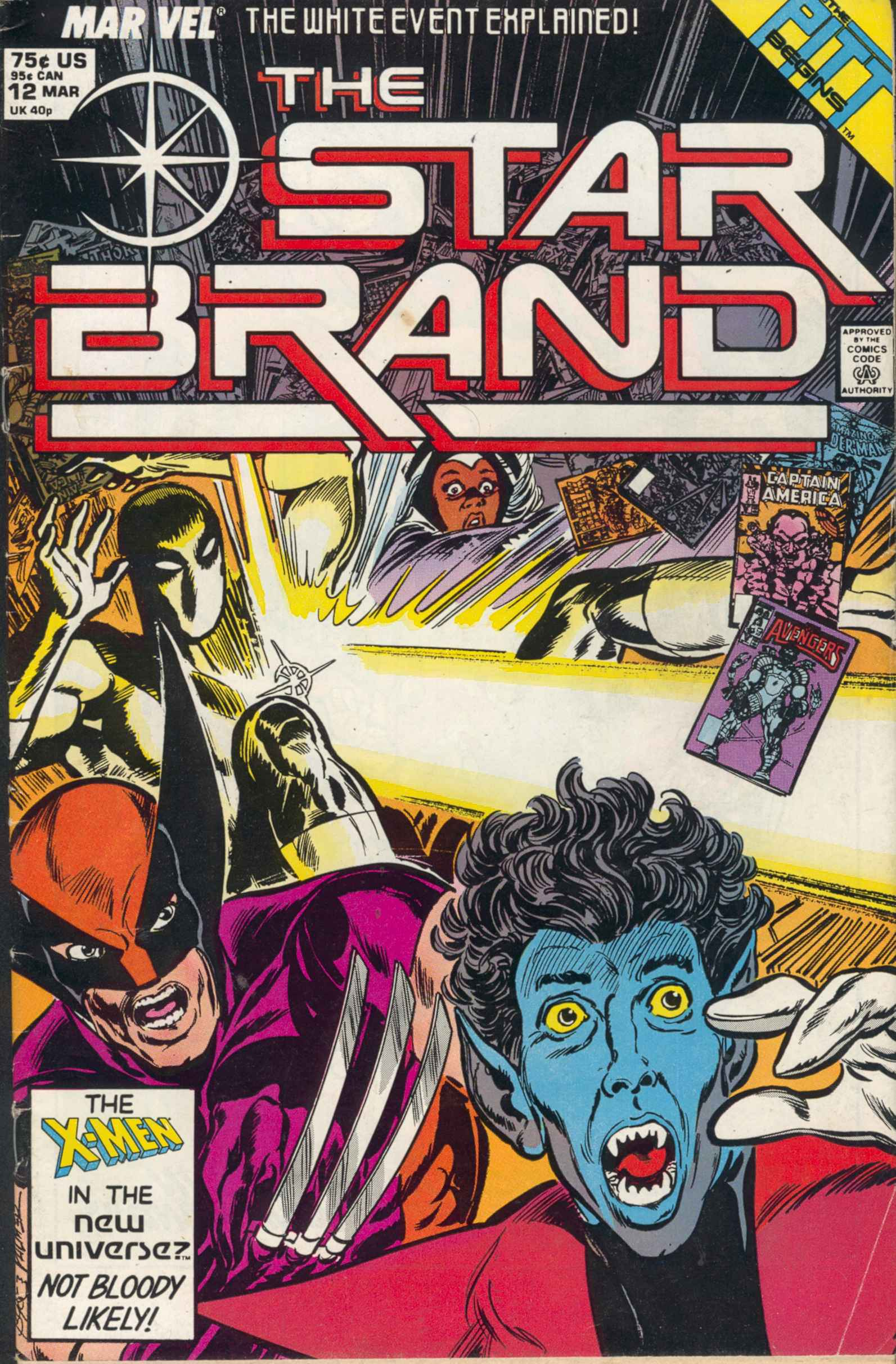 Read online Star Brand comic -  Issue #12 - 1