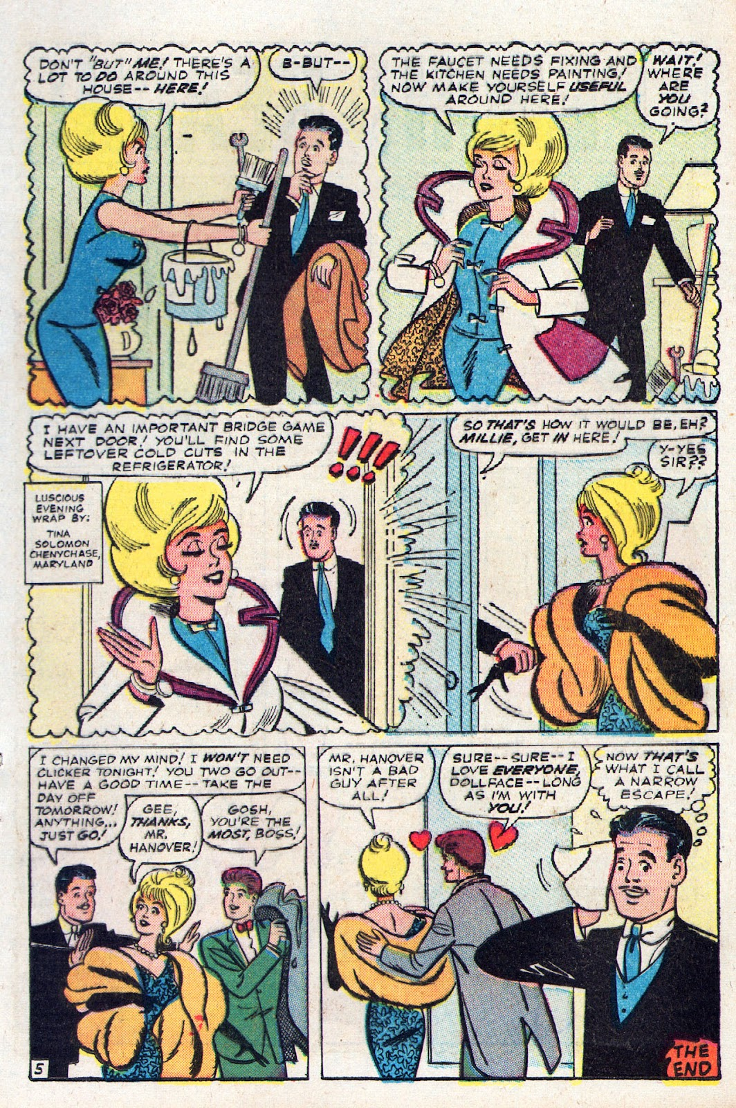Read online Millie the Model comic -  Issue # Annual 2 - 55