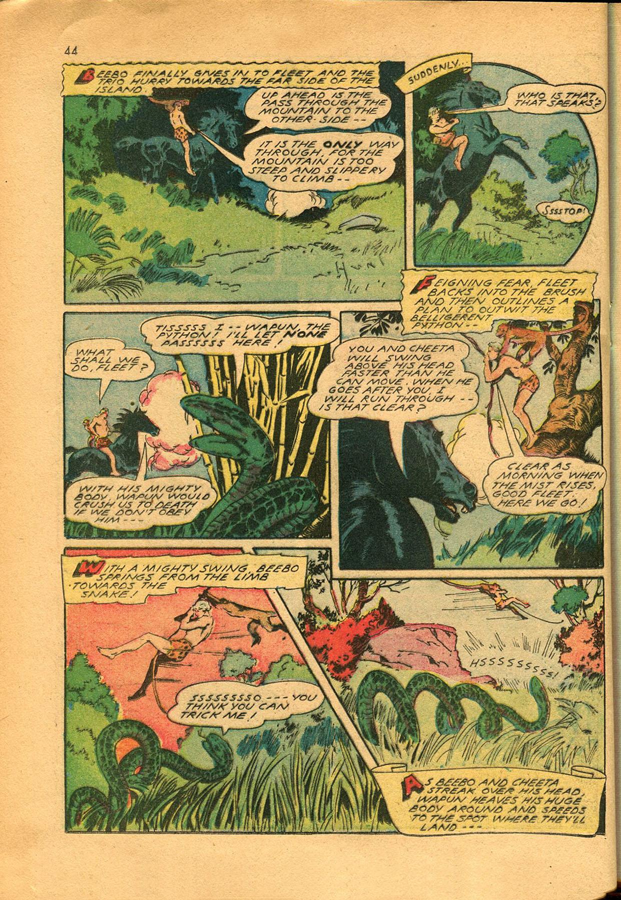 Read online Shadow Comics comic -  Issue #23 - 44