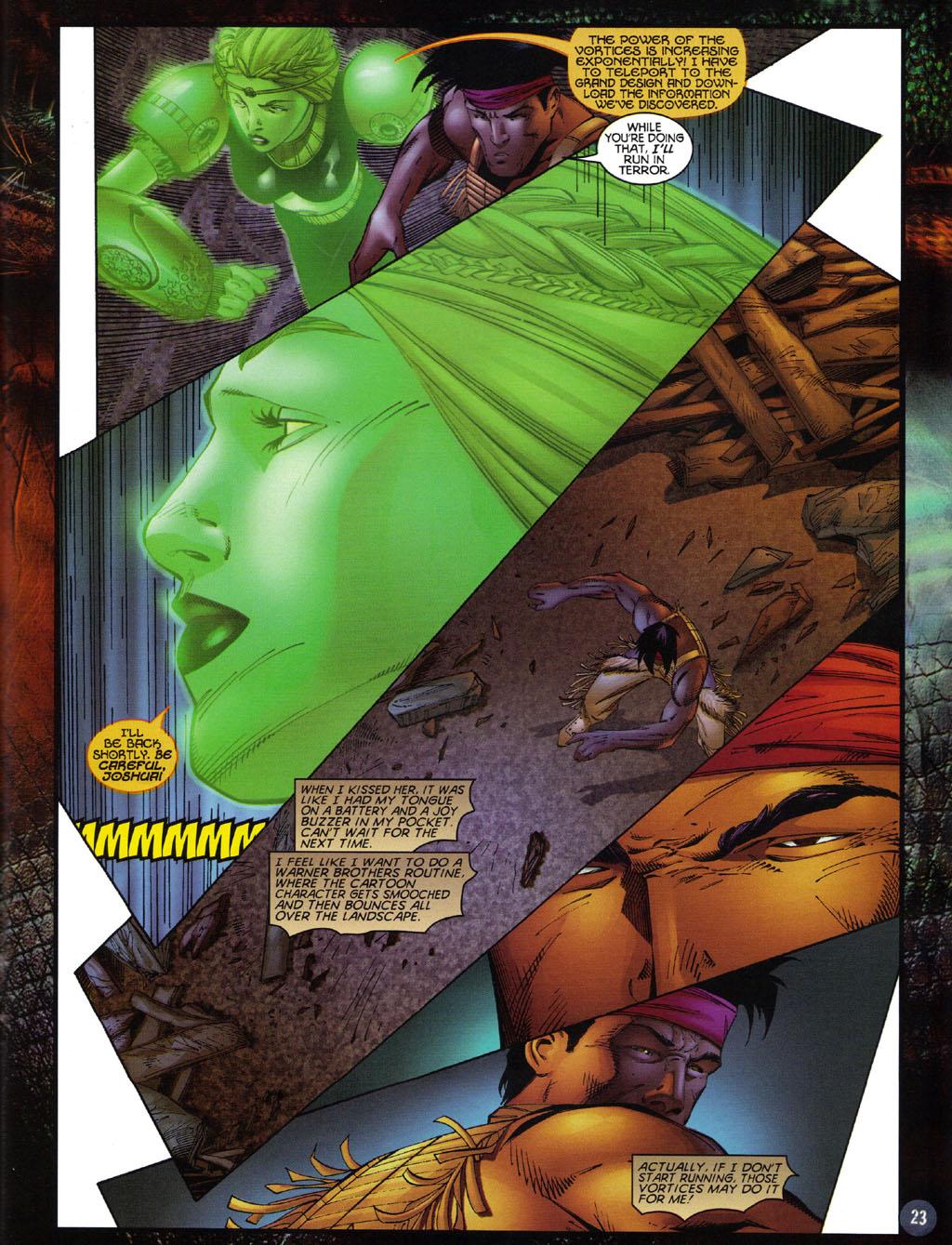 Read online Turok 2: Adon's Curse comic -  Issue # Full - 24