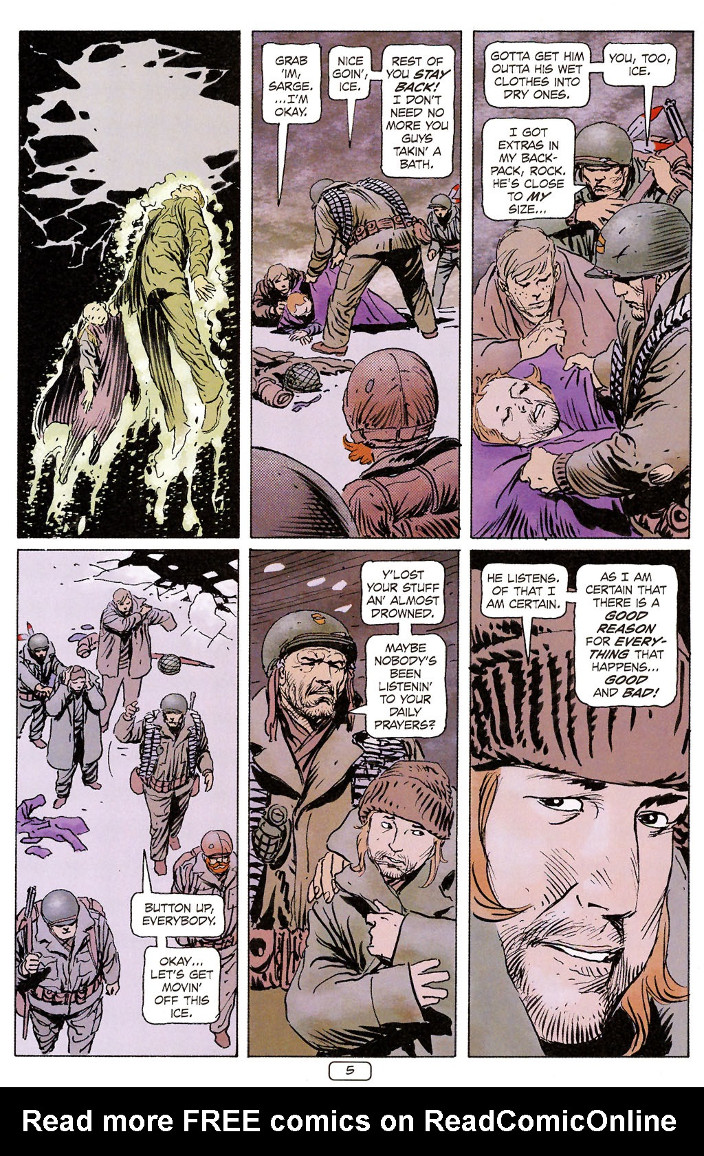 Read online Sgt. Rock: The Prophecy comic -  Issue #6 - 5