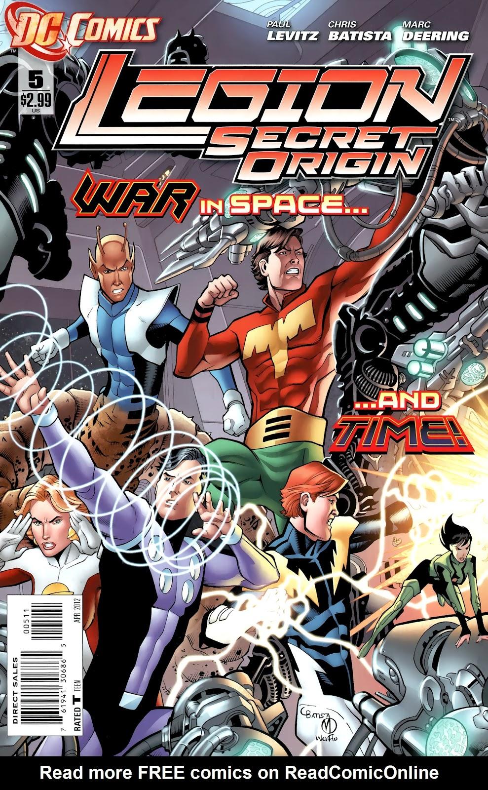 Legion: Secret Origin 5 Page 1