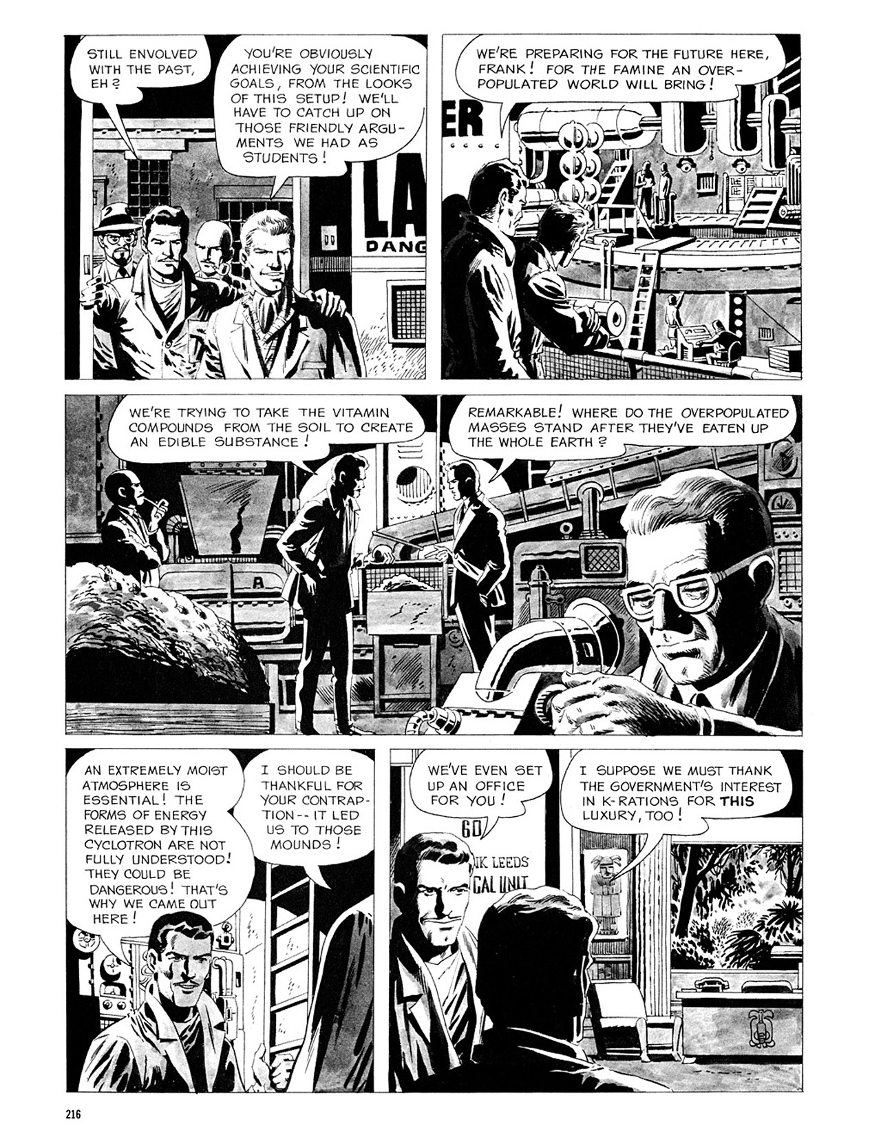 Read online Eerie Archives comic -  Issue # TPB 3 - 217