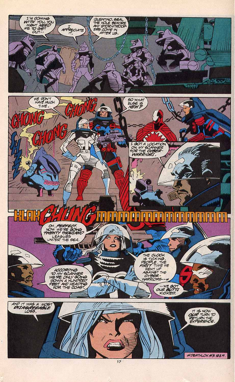 Read online Silver Sable and the Wild Pack comic -  Issue #11 - 14