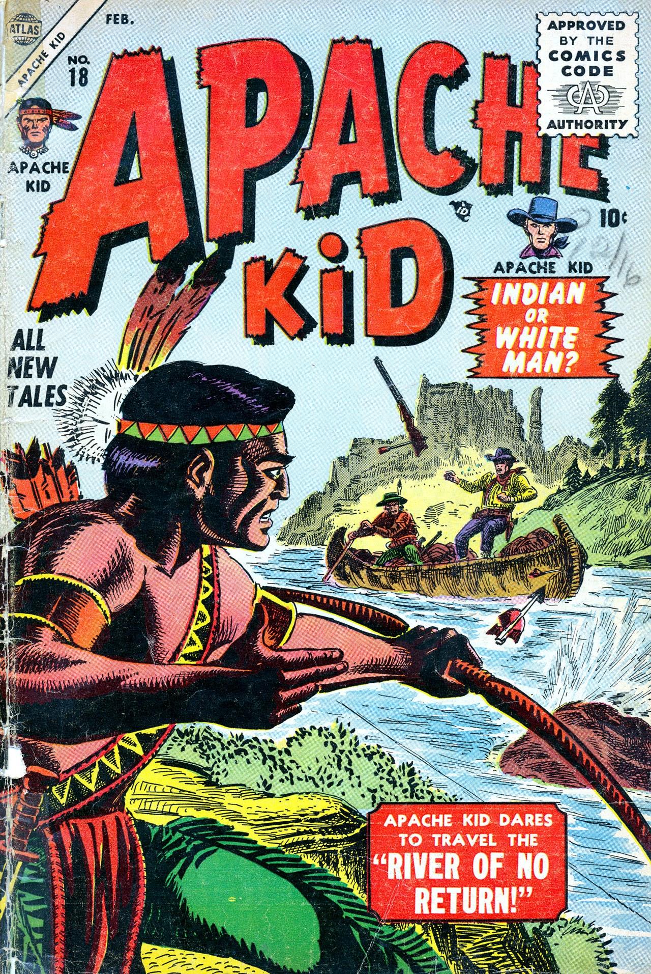 Apache Kid 18 Page 1