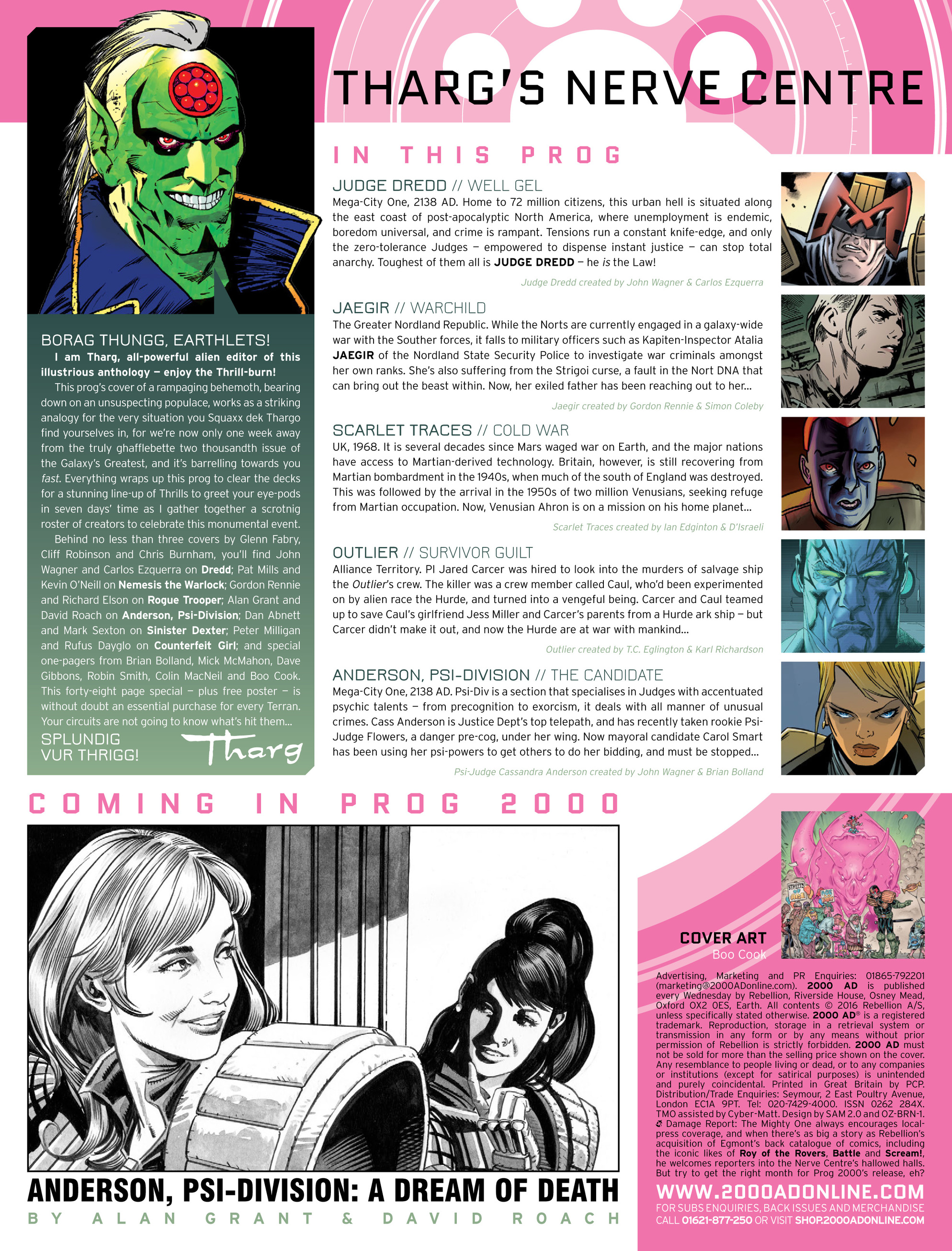 Read online 2000 AD comic -  Issue #1999 - 2