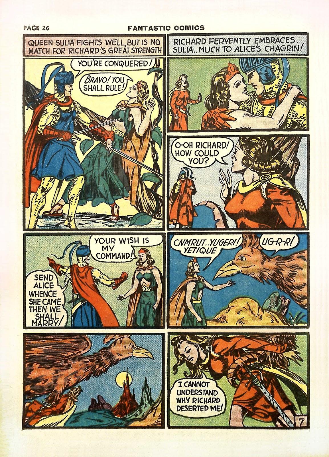Read online Fantastic Comics comic -  Issue #11 - 29