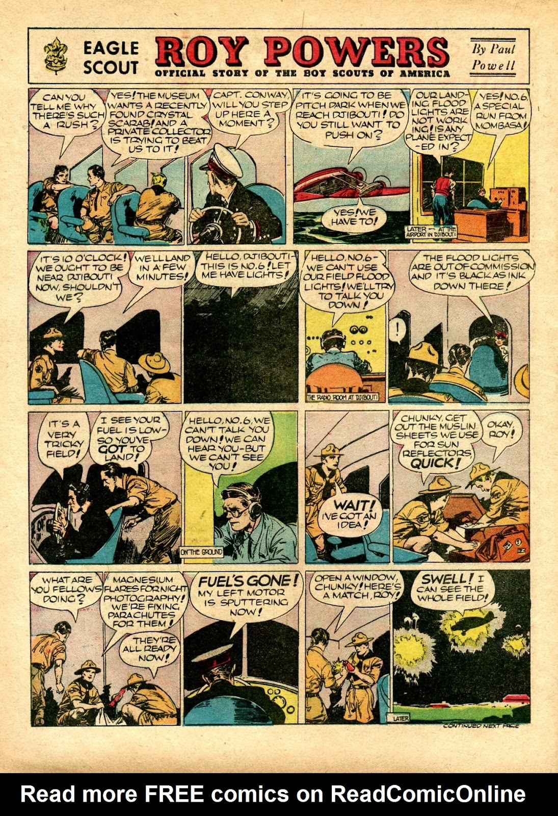 Read online Famous Funnies comic -  Issue #72 - 6