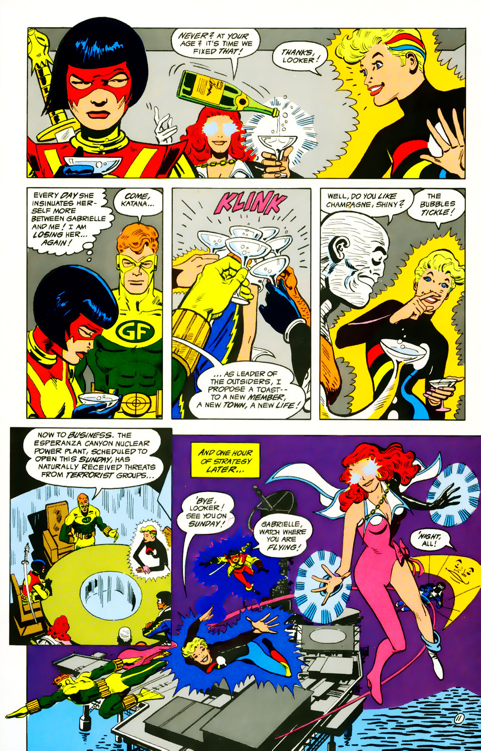 Read online Adventures of the Outsiders comic -  Issue #39 - 12