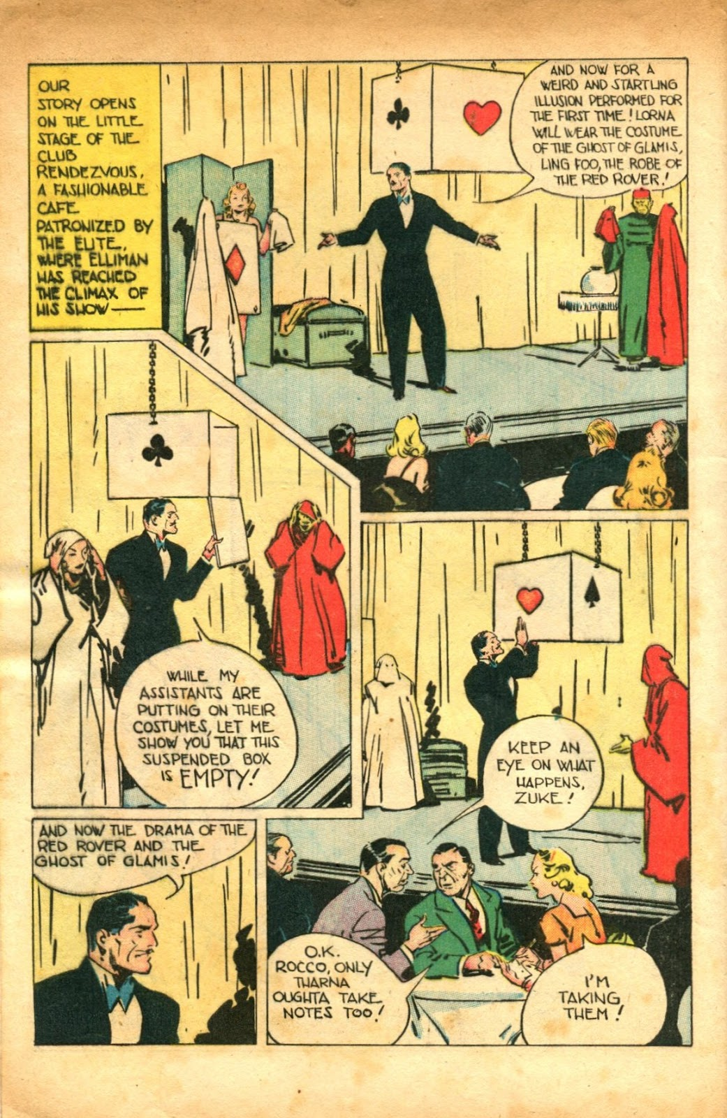 Read online Super-Magician Comics comic -  Issue #51 - 4