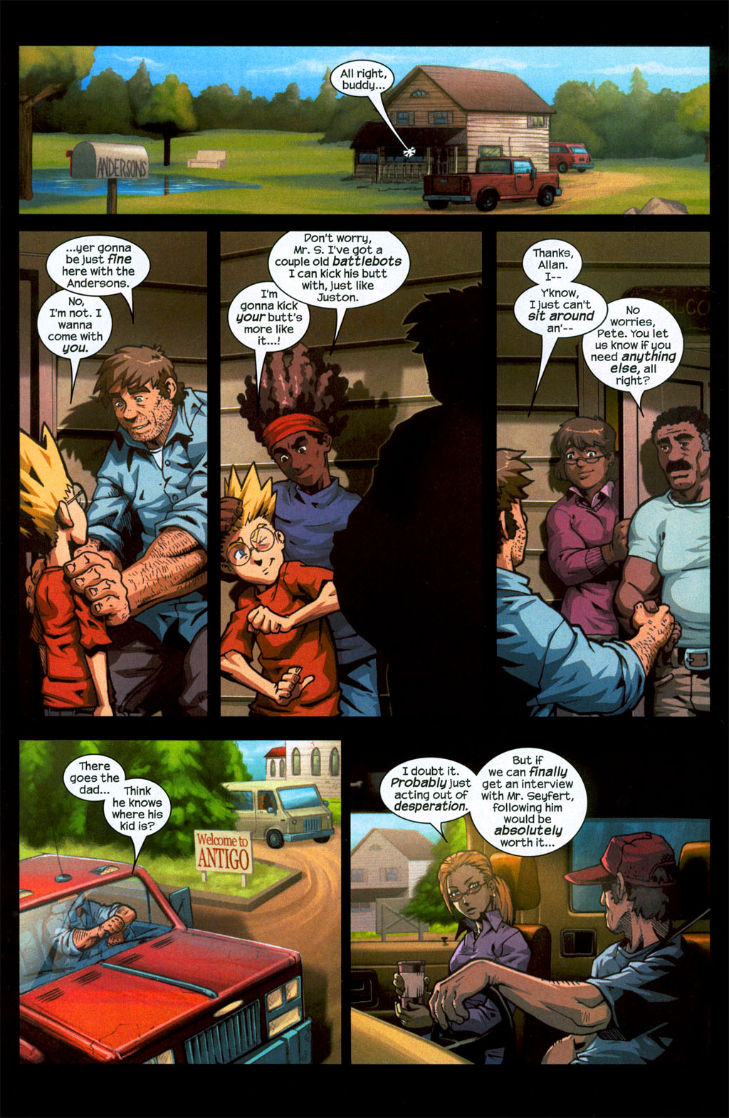 Read online Sentinel (2006) comic -  Issue #1 - 14