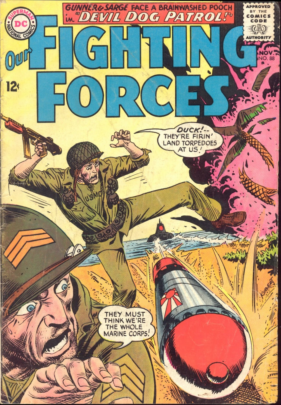 Our Fighting Forces (1954) issue 88 - Page 1