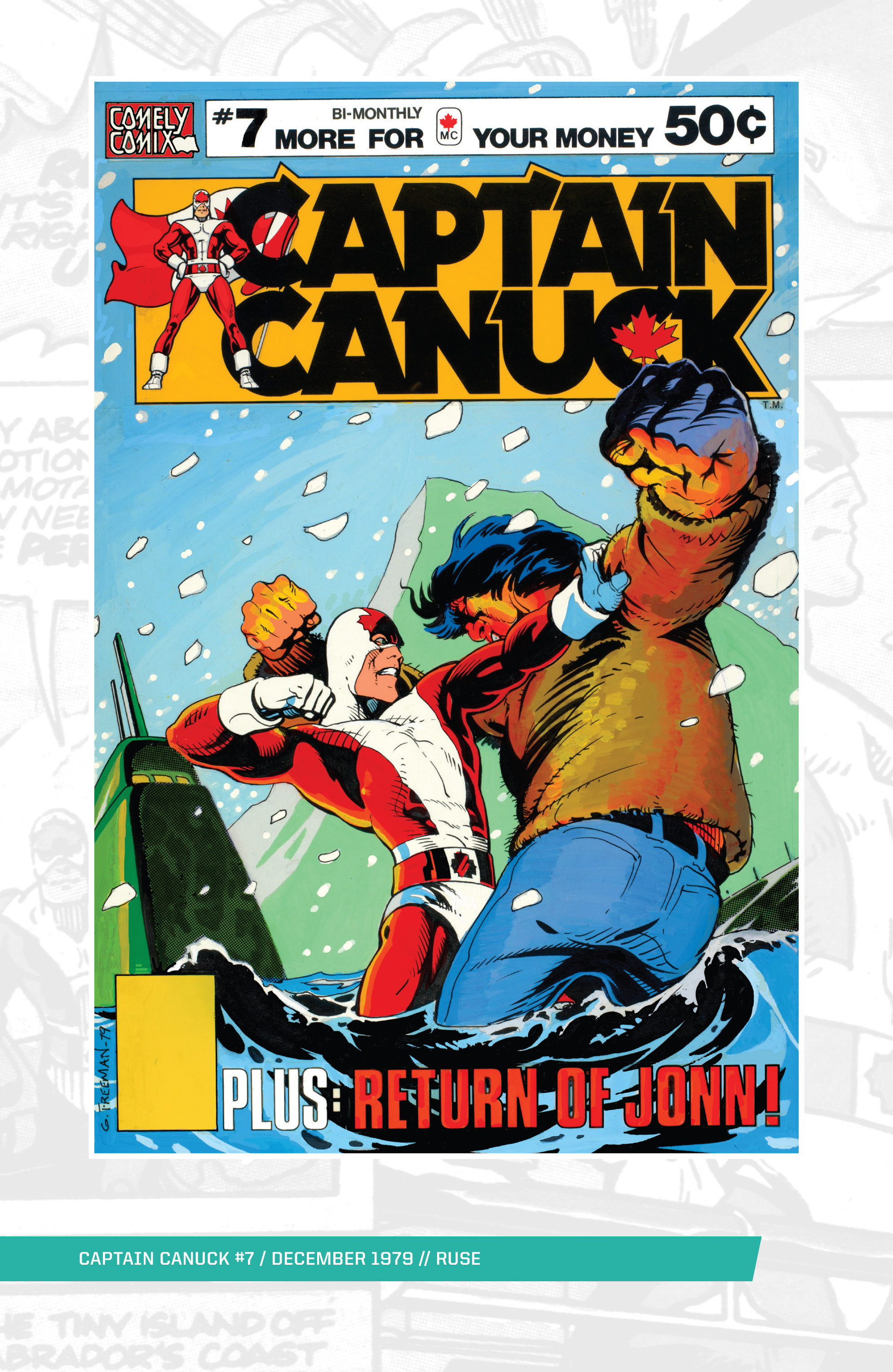 Captain Canuck (1975) 7 Page 1