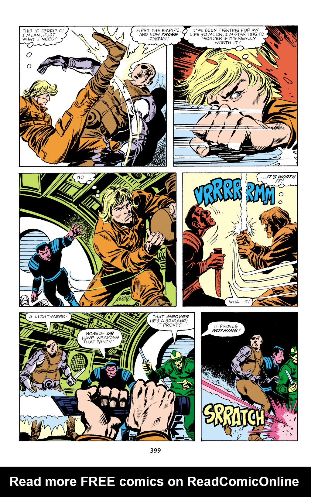 Read online Star Wars Omnibus comic -  Issue # Vol. 16 - 391