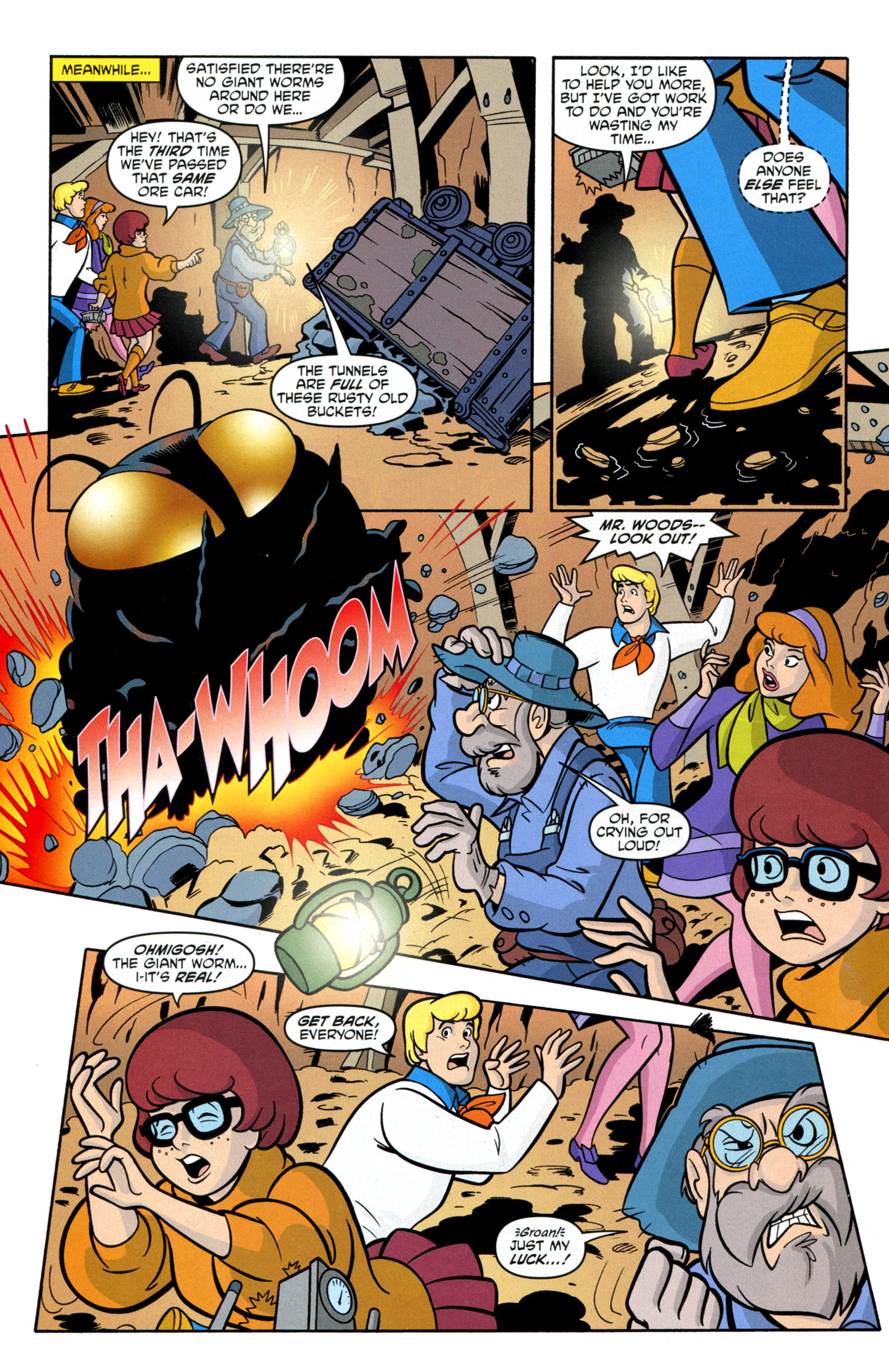 Read online Scooby-Doo: Where Are You? comic -  Issue #14 - 32