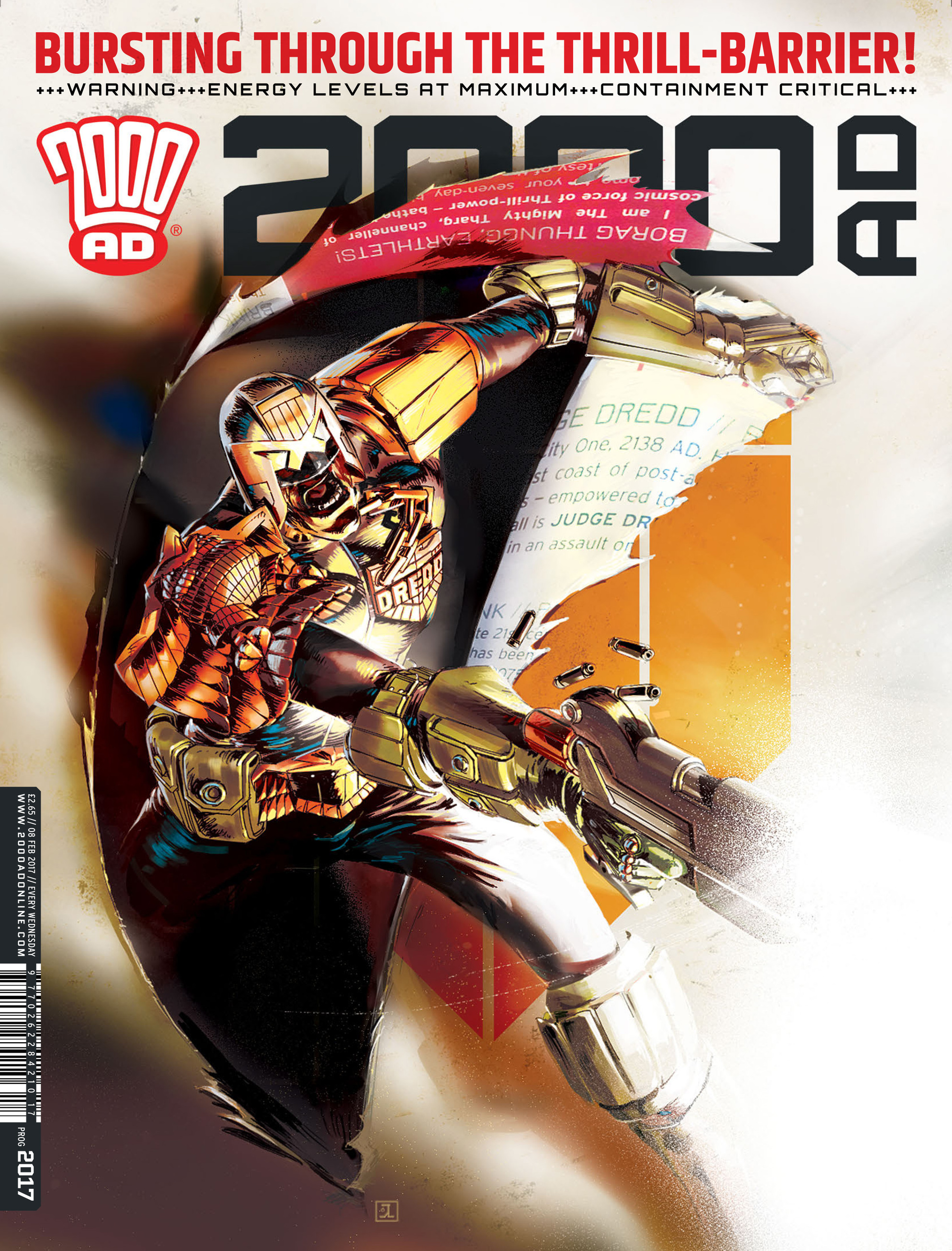 Read online 2000 AD comic -  Issue #2017 - 1