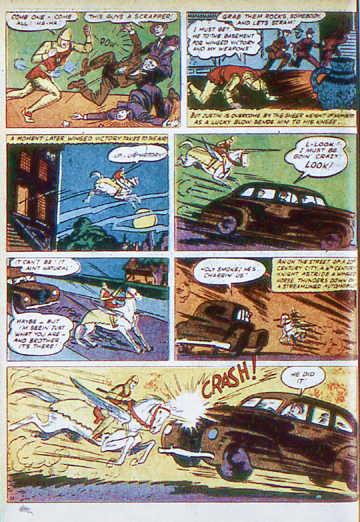 Read online Adventure Comics (1938) comic -  Issue #66 - 27