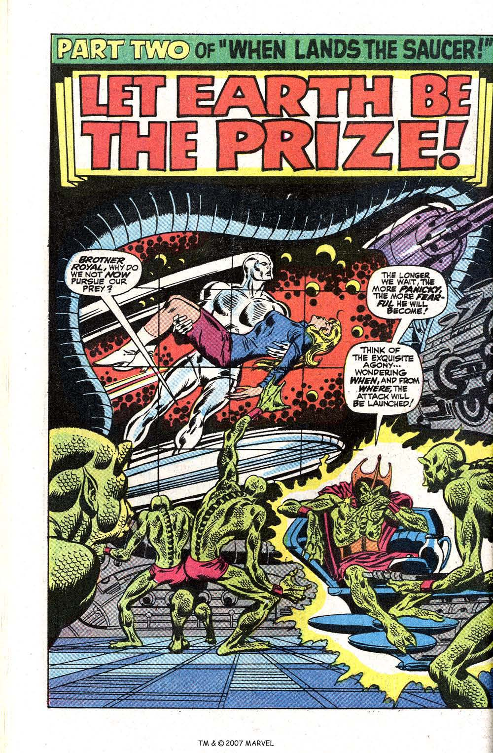 Read online Silver Surfer (1968) comic -  Issue #2 - 28