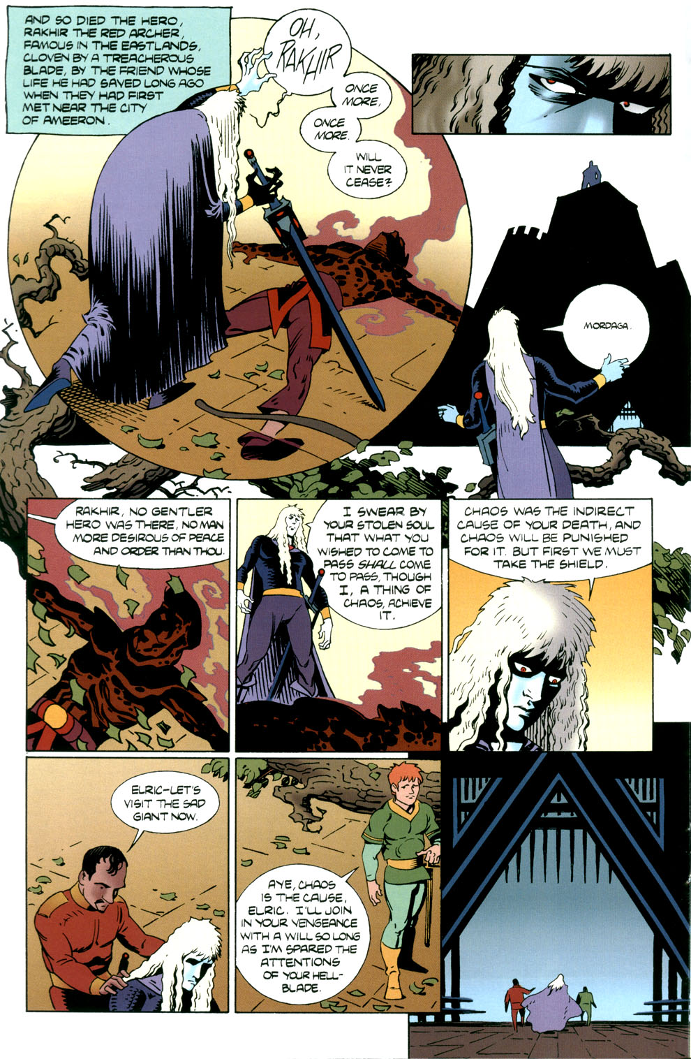 Read online Elric: Stormbringer comic -  Issue #5 - 16