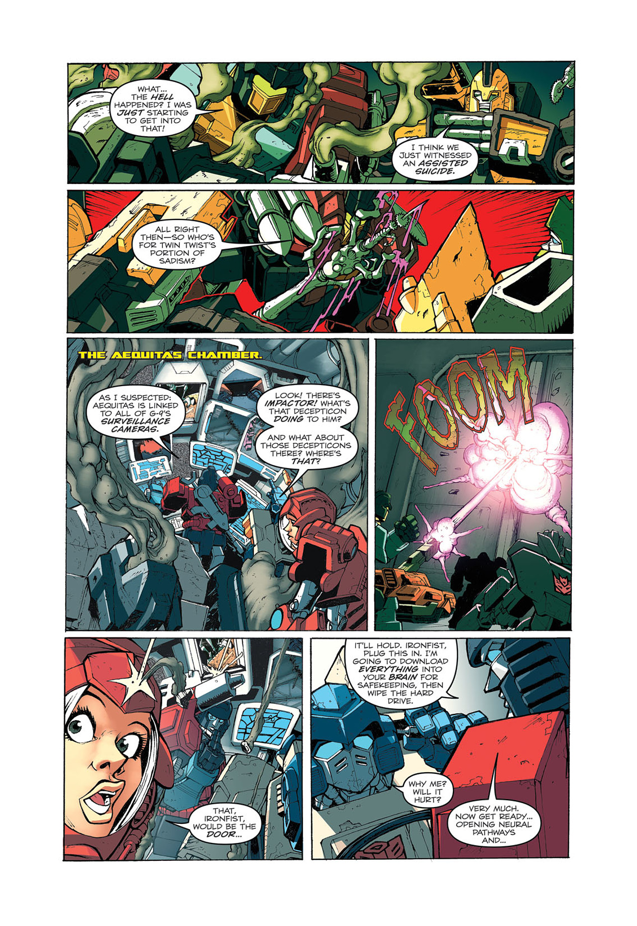 Read online Transformers: Last Stand of The Wreckers comic -  Issue #4 - 20
