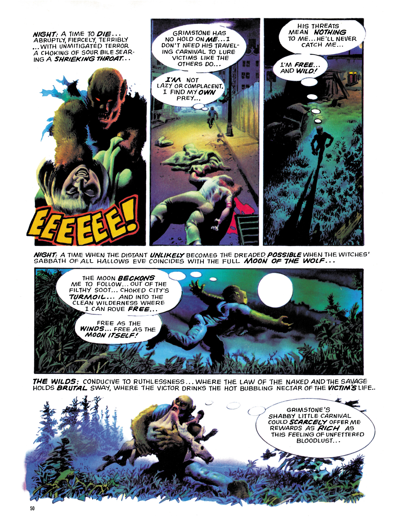 Read online Eerie Archives comic -  Issue # TPB 18 - 51