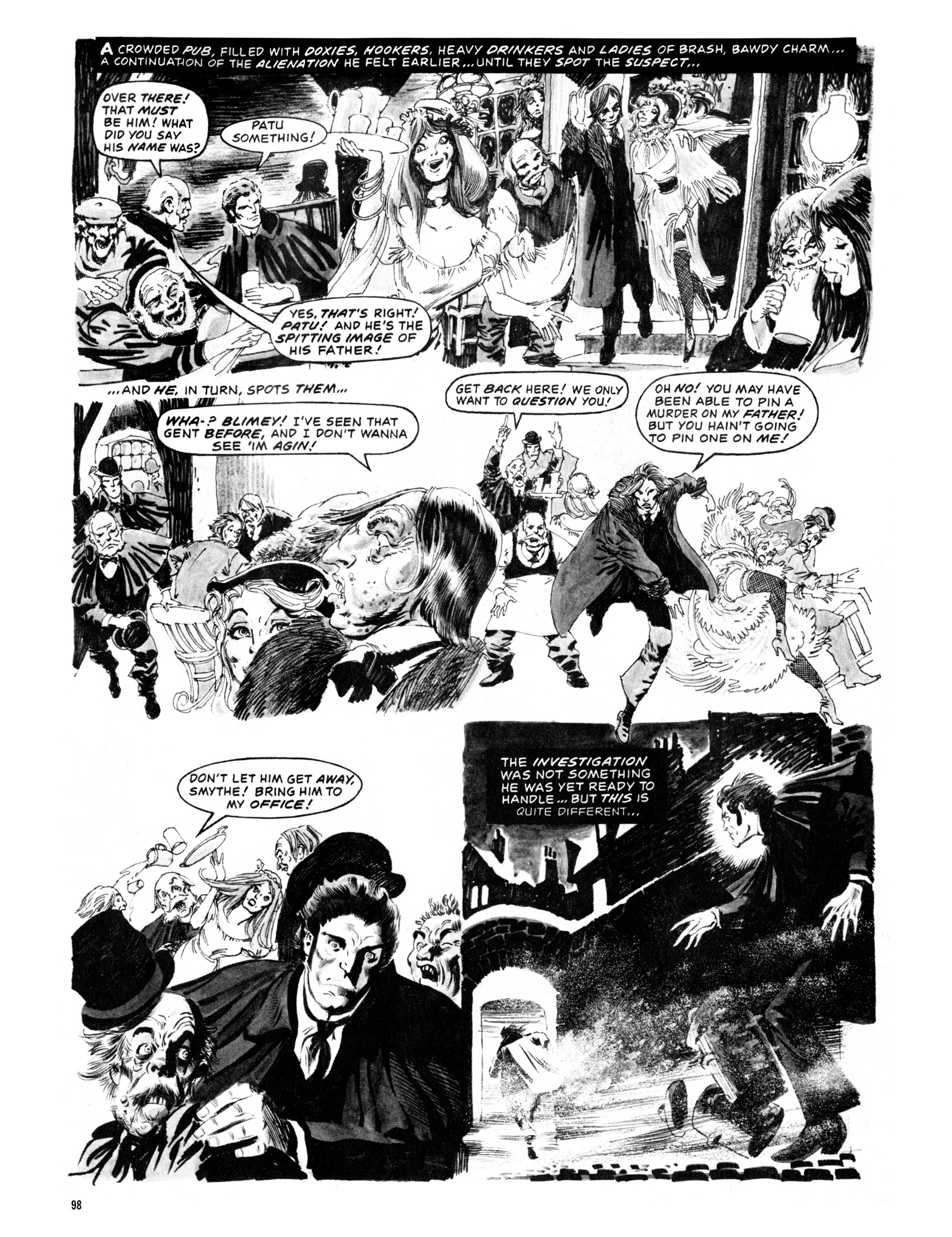 Read online Eerie Archives comic -  Issue # TPB 12 - 99