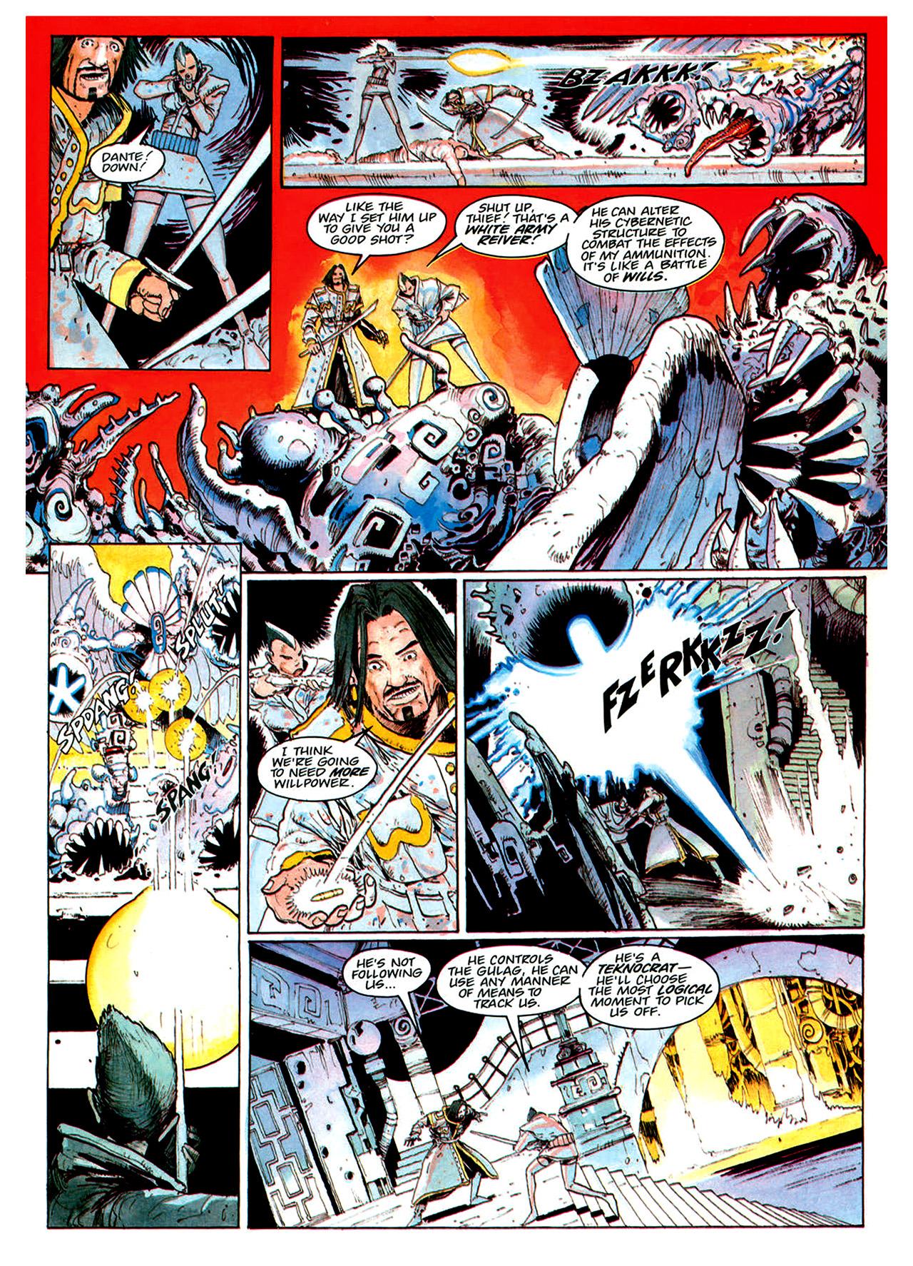 Read online Nikolai Dante comic -  Issue # TPB 1 - 167