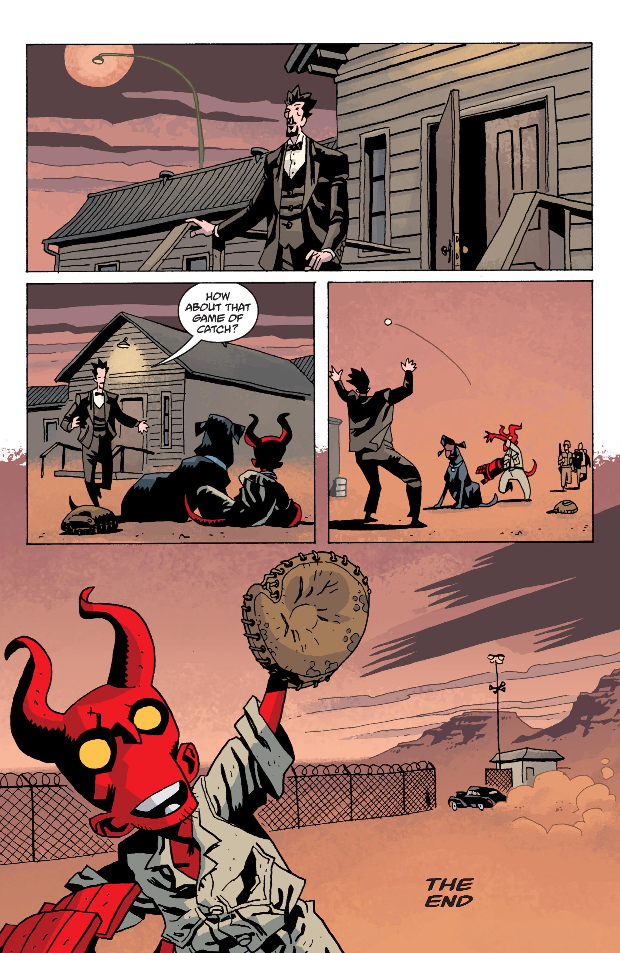 Read online B.P.R.D. (2003) comic -  Issue # TPB 13 - 135