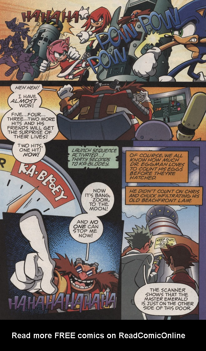Read online Sonic X comic -  Issue #11 - 30