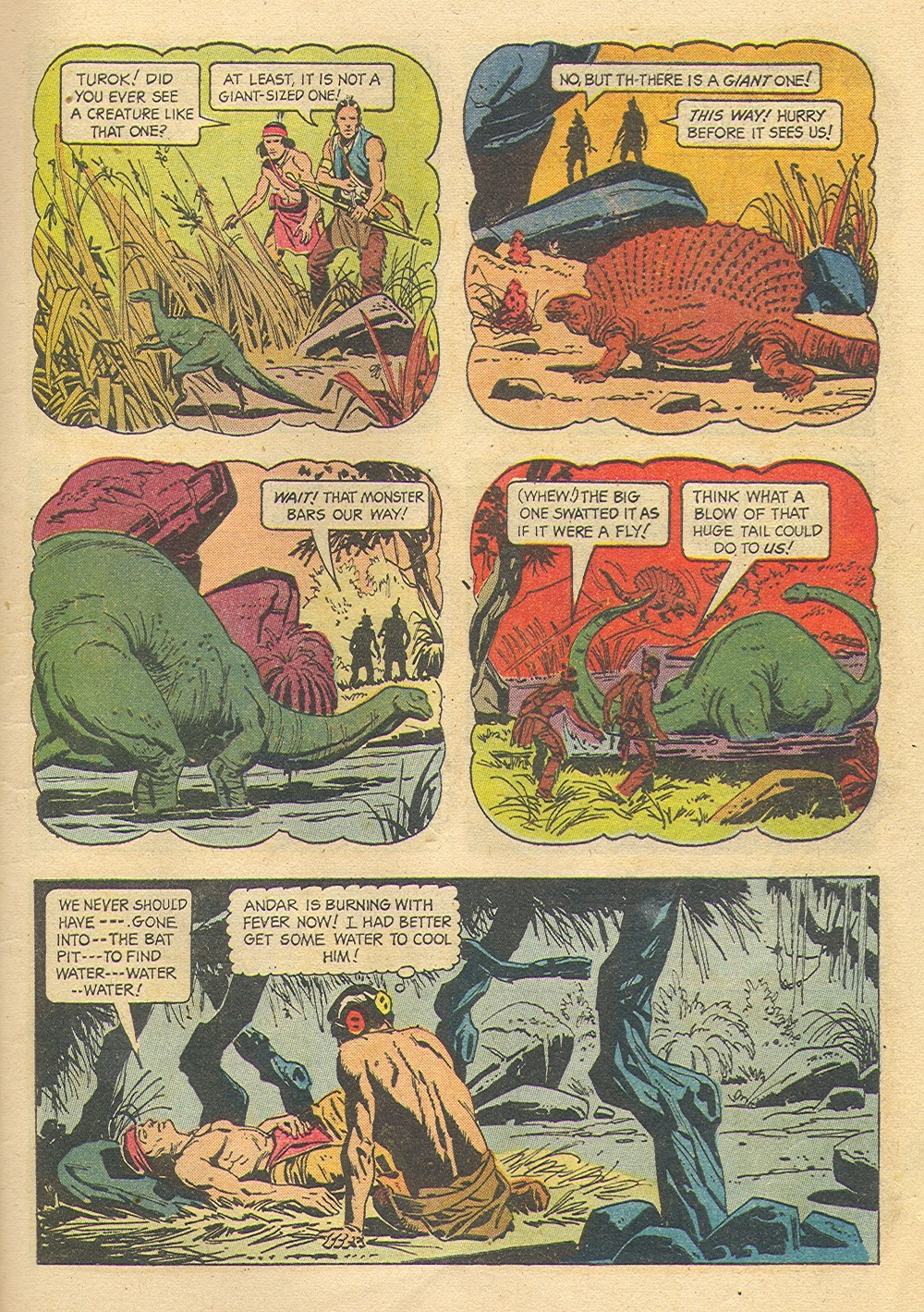 Read online Turok, Son of Stone comic -  Issue #35 - 9