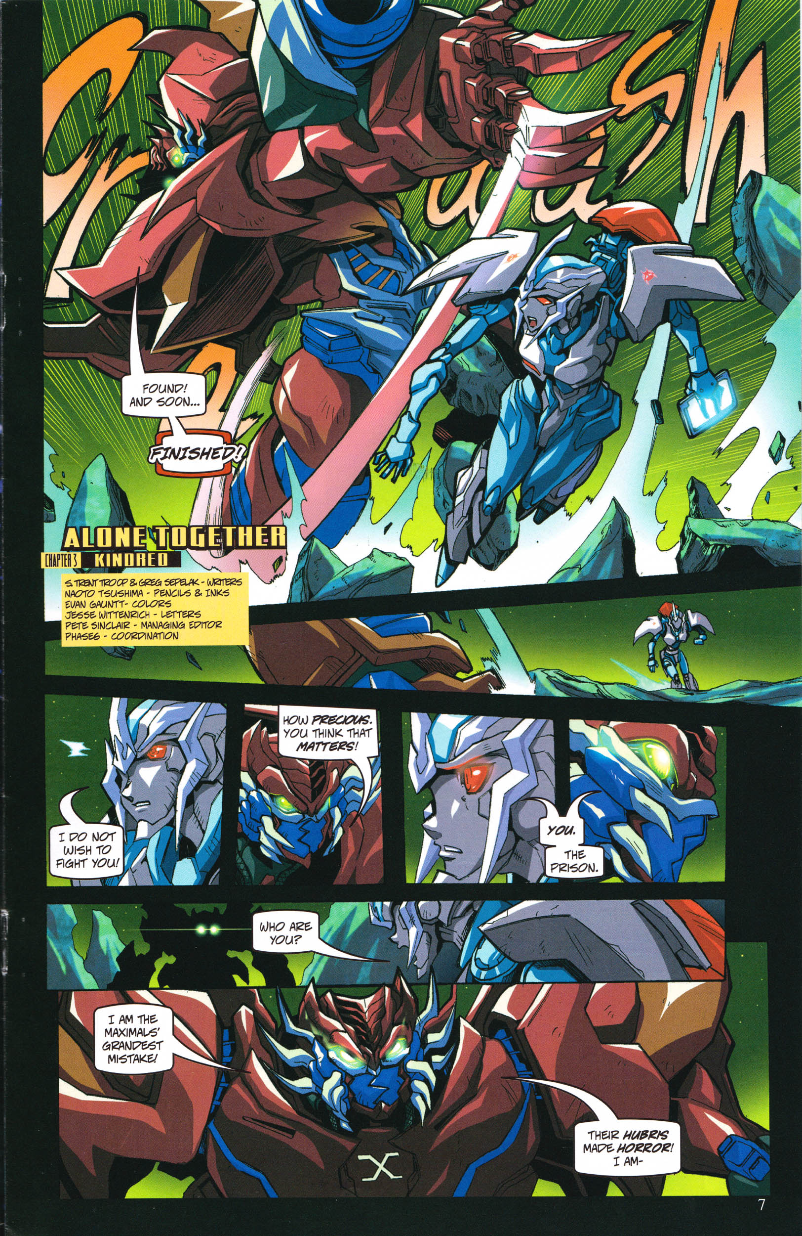 Read online Transformers: Collectors' Club comic -  Issue #58 - 7