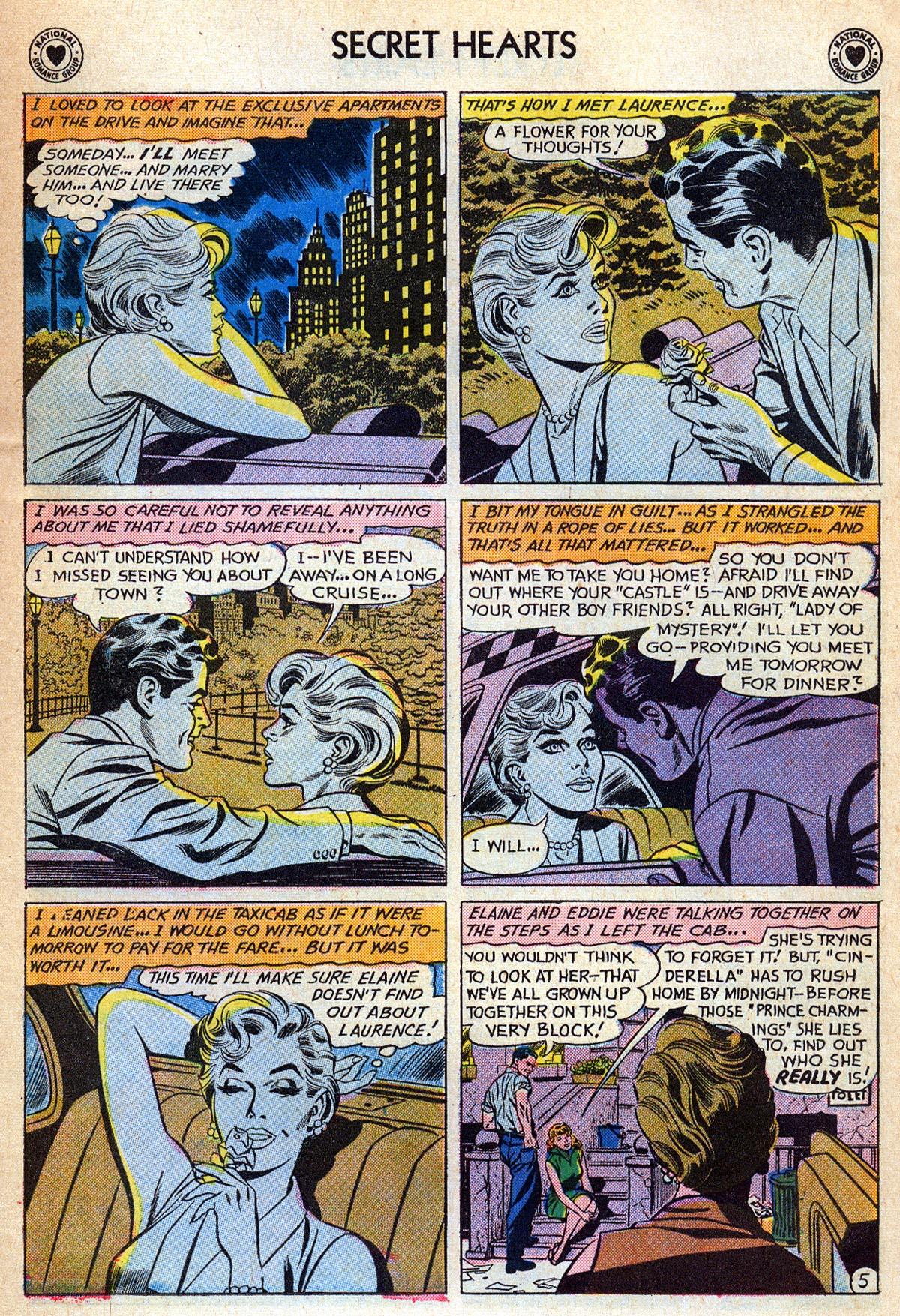 Read online Secret Hearts comic -  Issue #76 - 31