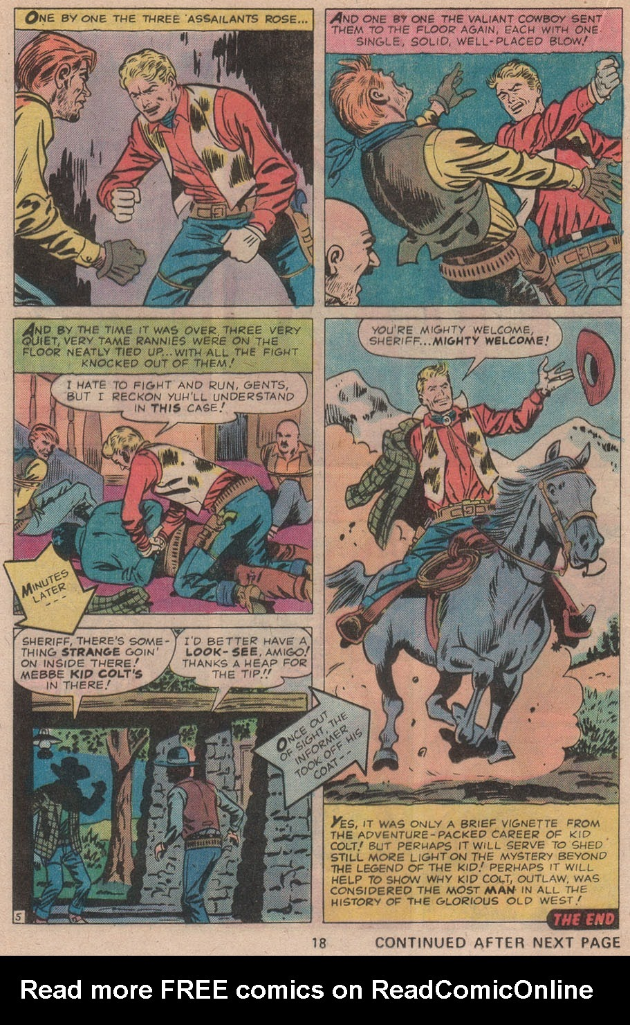Kid Colt Outlaw issue 211 - Page 20