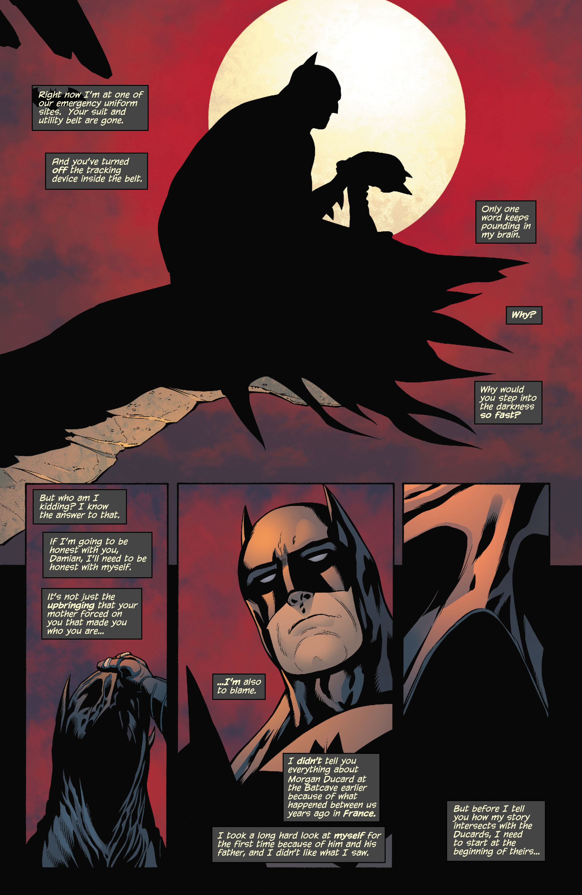 Read online Batman and Robin (2011) comic -  Issue # TPB 1 - 99